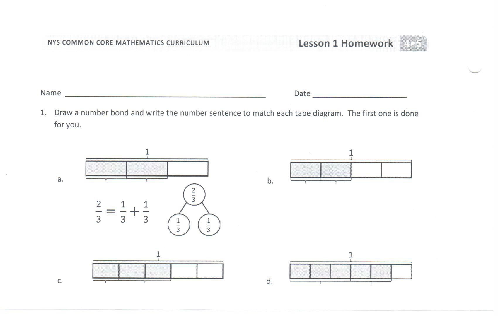 Tape Diagram Worksheet 6th Grade Fraction Diagrams Worksheet Google Search