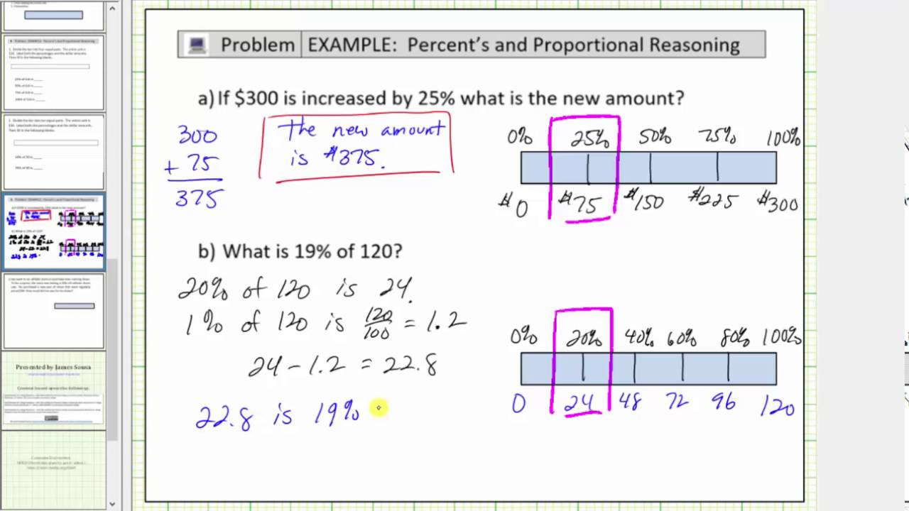 Tape Diagram Worksheet 6th Grade solve Percent Problems Using A Tape Diagram Bar Diagram