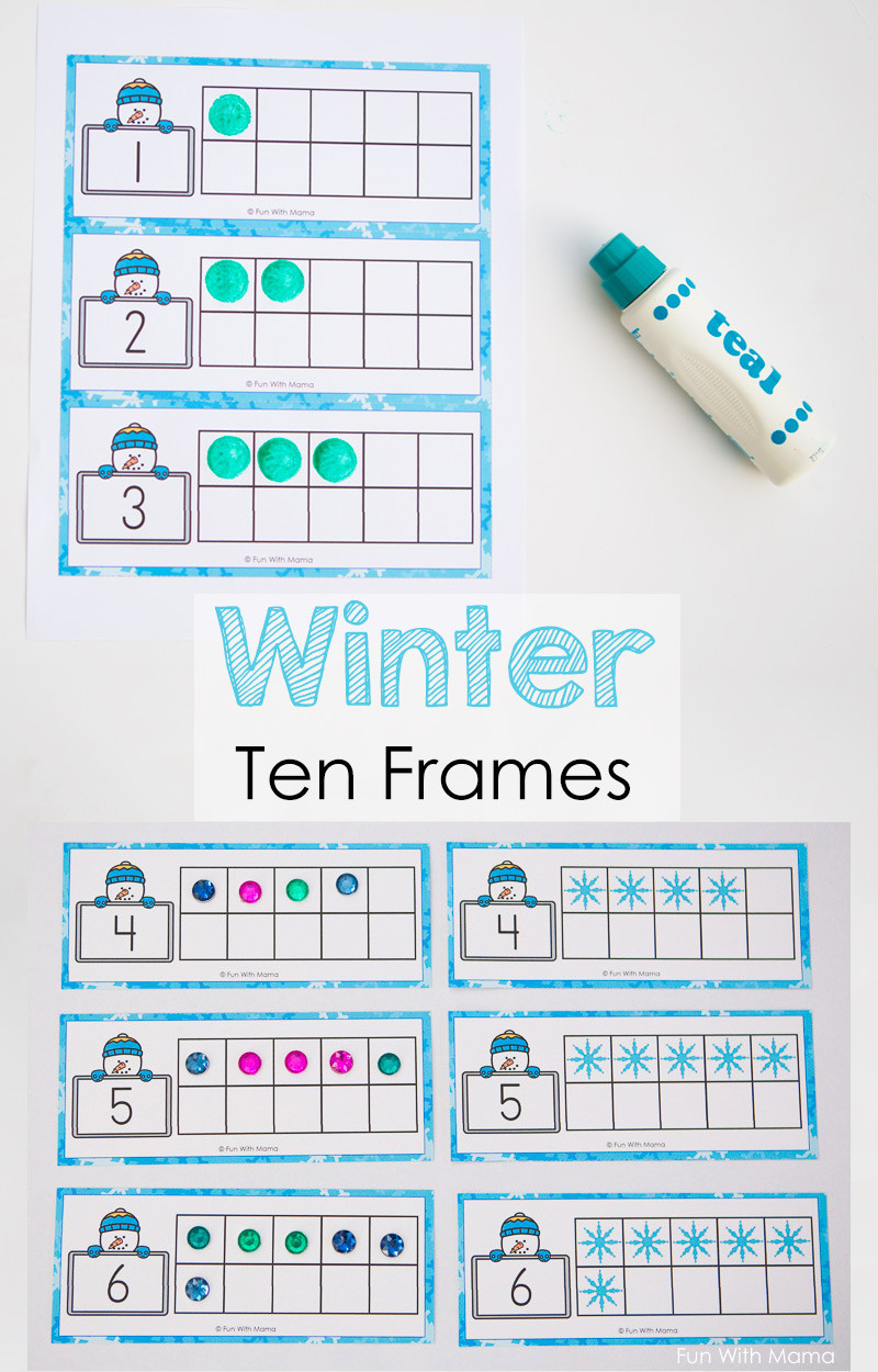 Ten Frame Math Worksheets 1000 Images About Tally Marks On Pinterest Ten Frame