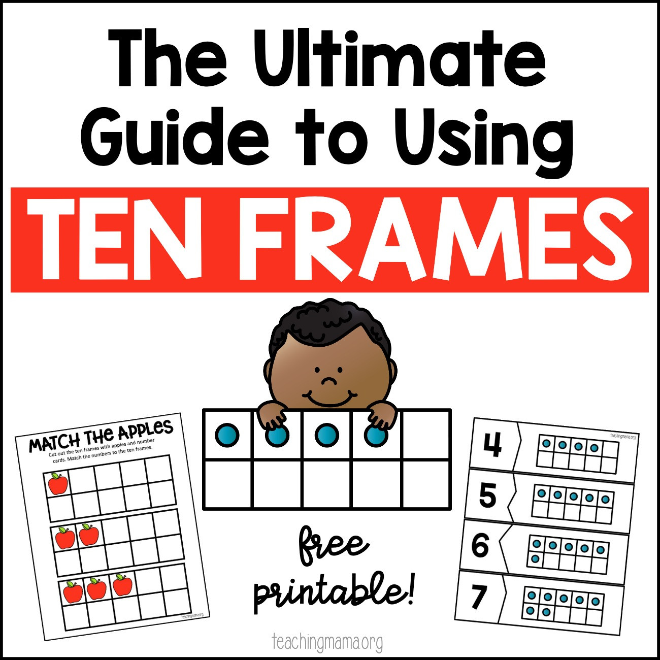 Ten Frame Worksheets First Grade the Ultimate Guide to Using Ten Frames