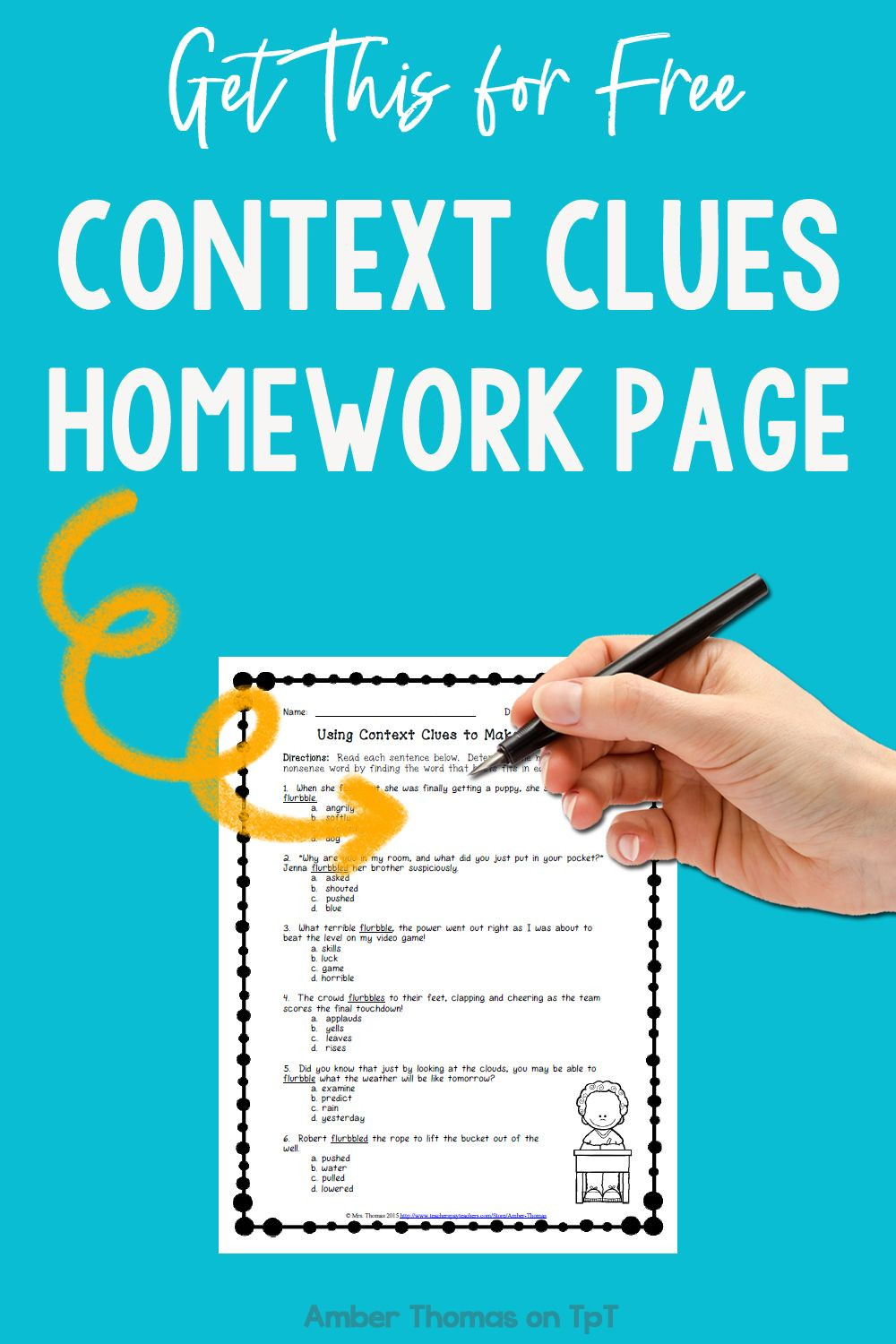 Test Taking Skills Worksheets Download Pin On Amber Thomas Tpt