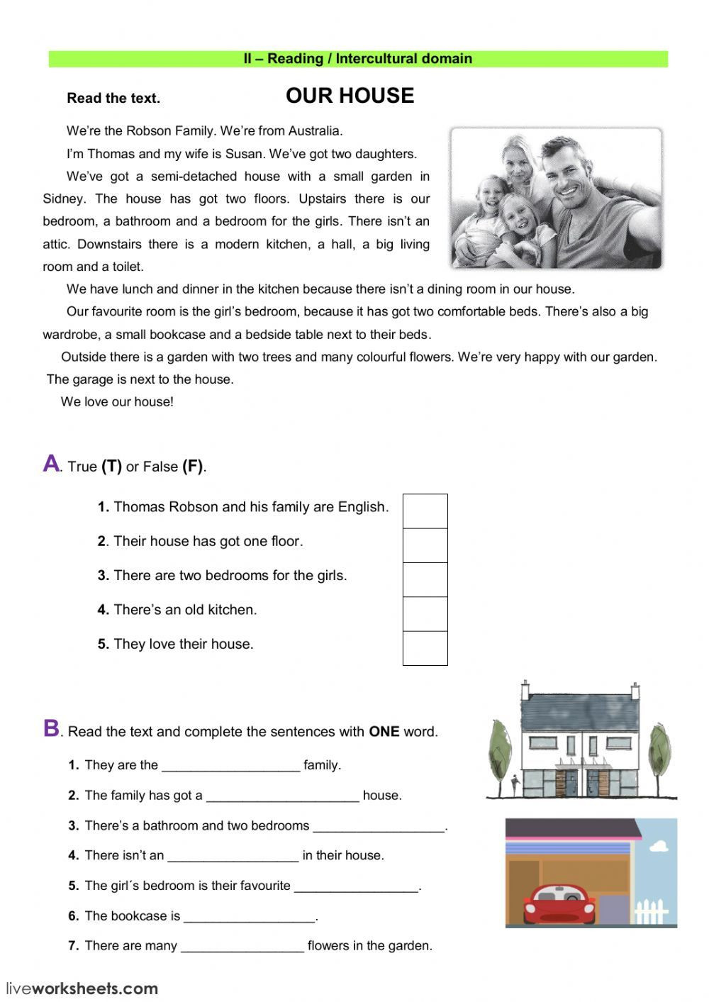 Test Taking Skills Worksheets Download the House Interactive and Able Worksheet You Can Do