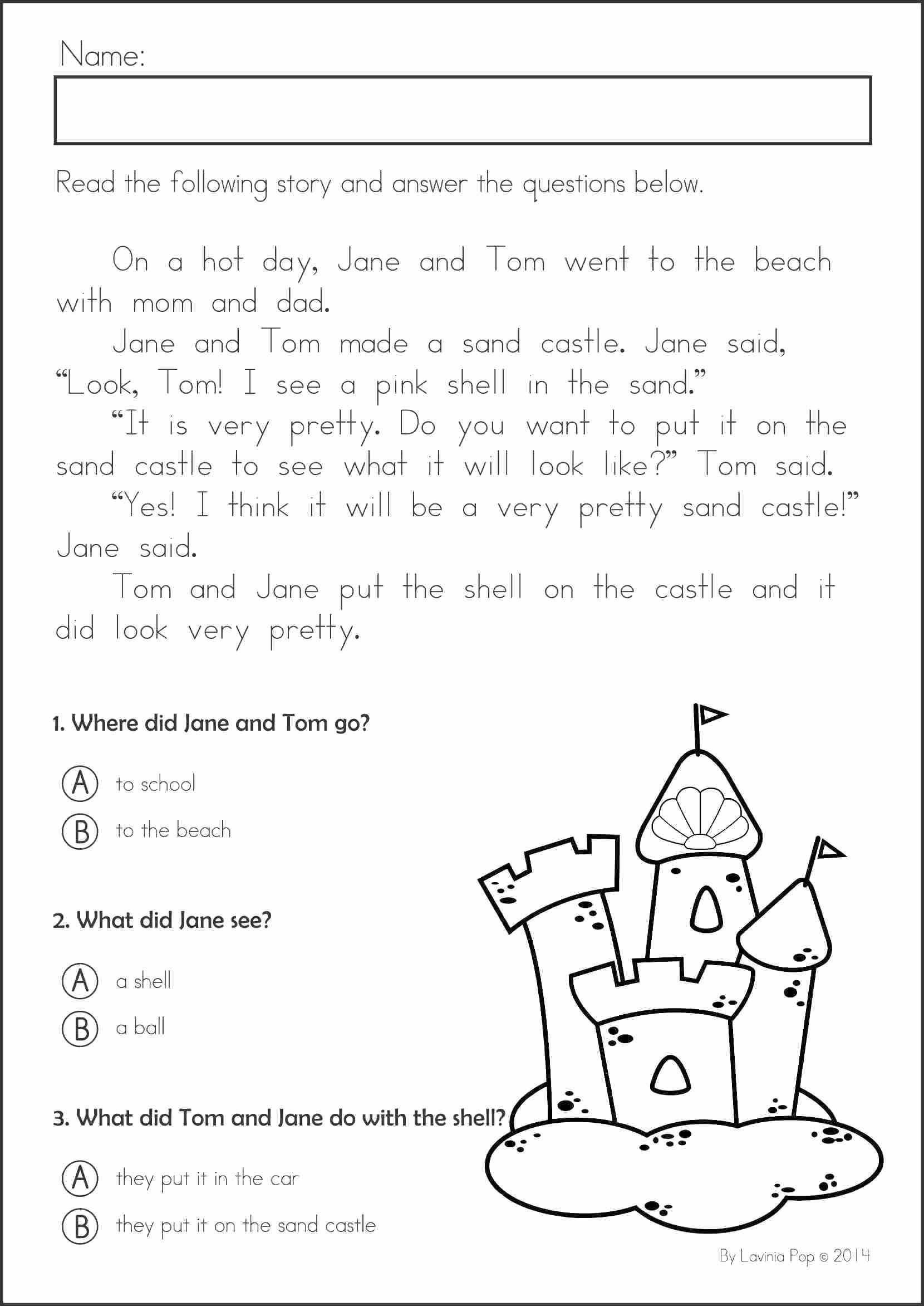Text Evidence Worksheet 4th Grade Reading Prehension Worksheets 4th Grade to Free Download
