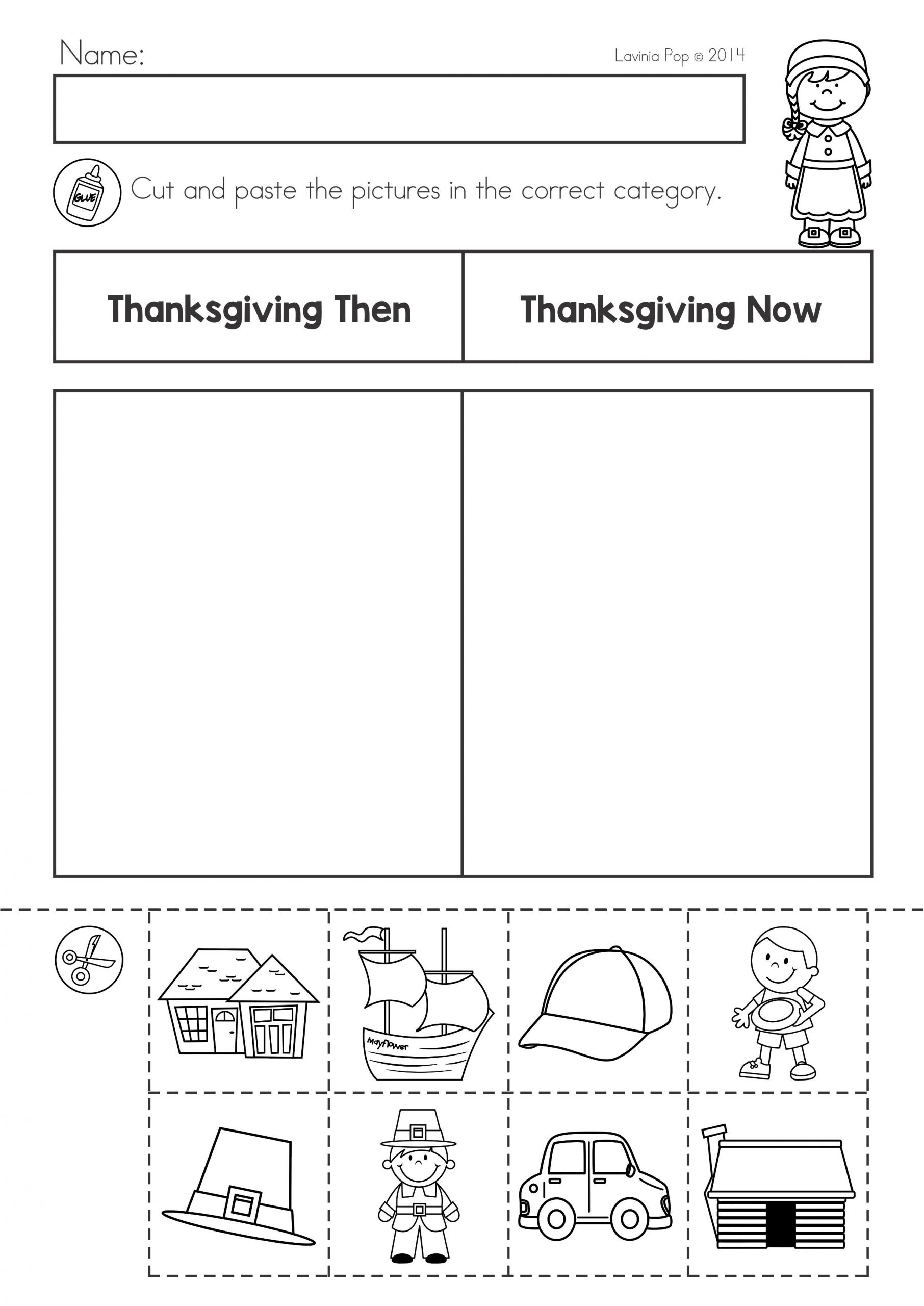Thanksgiving Worksheets for Middle School Thanksgiving Math & Literacy Worksheets and Activities