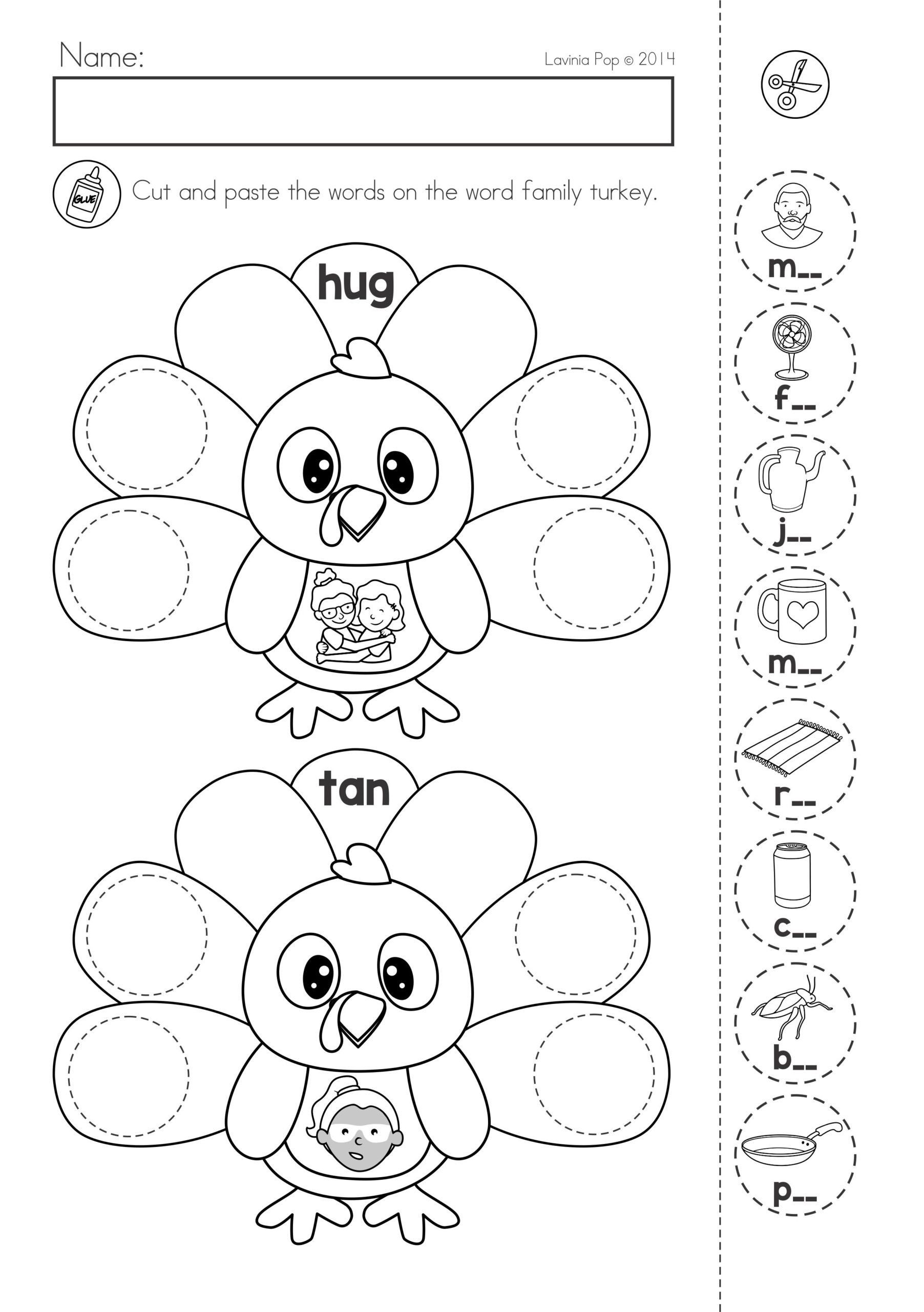 Thanksgiving Worksheets for Middle School Thanksgiving Printable Worksheets High School Able English