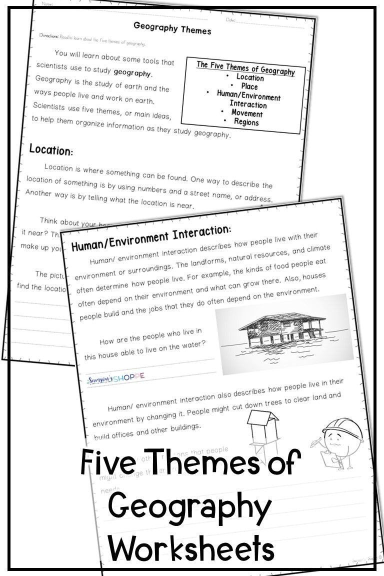 Theme Worksheets Middle School Pin On Printable Blank Worksheet Template