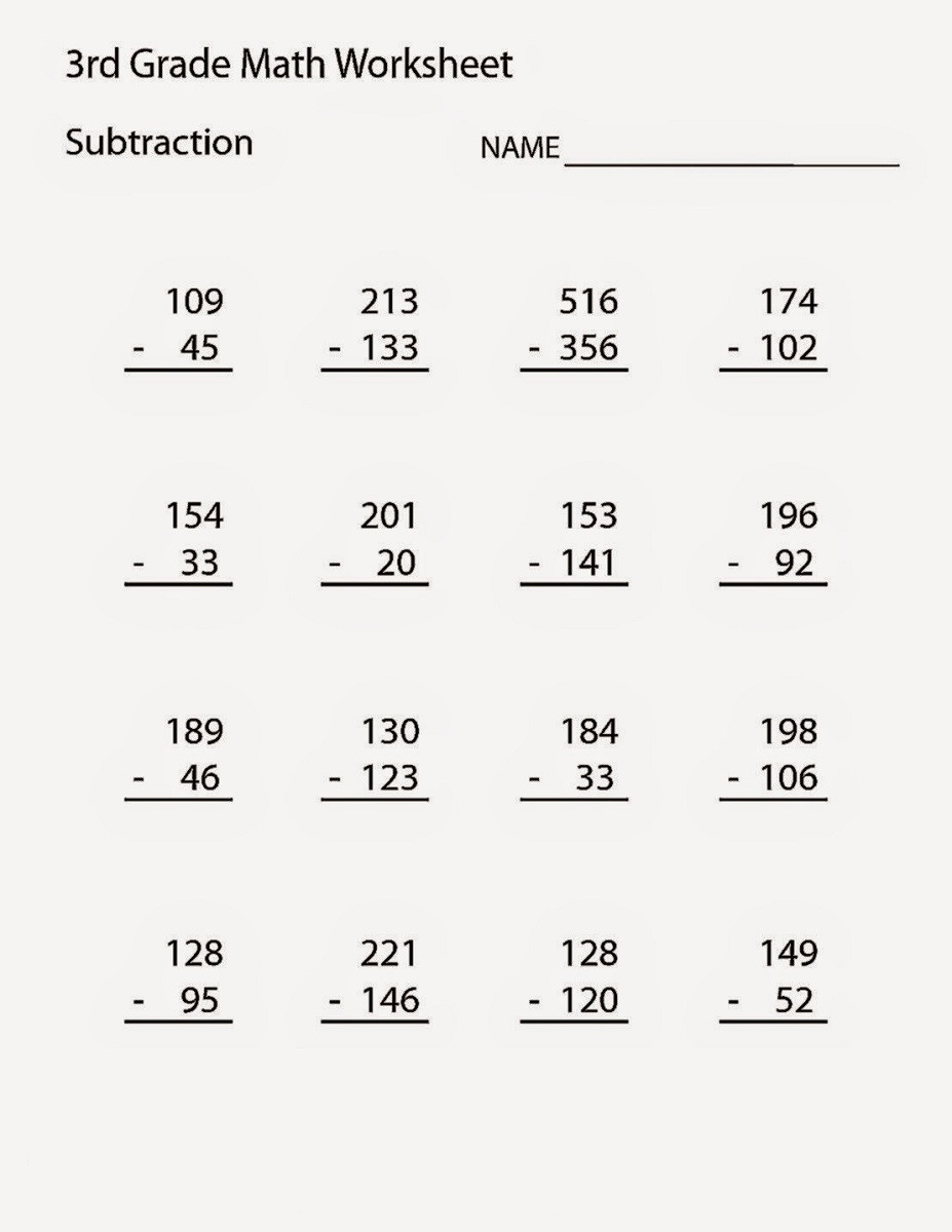Third Grade Fraction Worksheets Math Worksheet Remarkable Free Printable Maths Grade 3rd