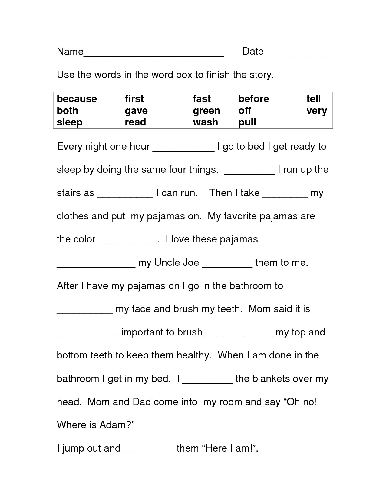 Third Grade Grammar Worksheet 3rd Grade Worksheets Best Coloring Pages for Kids