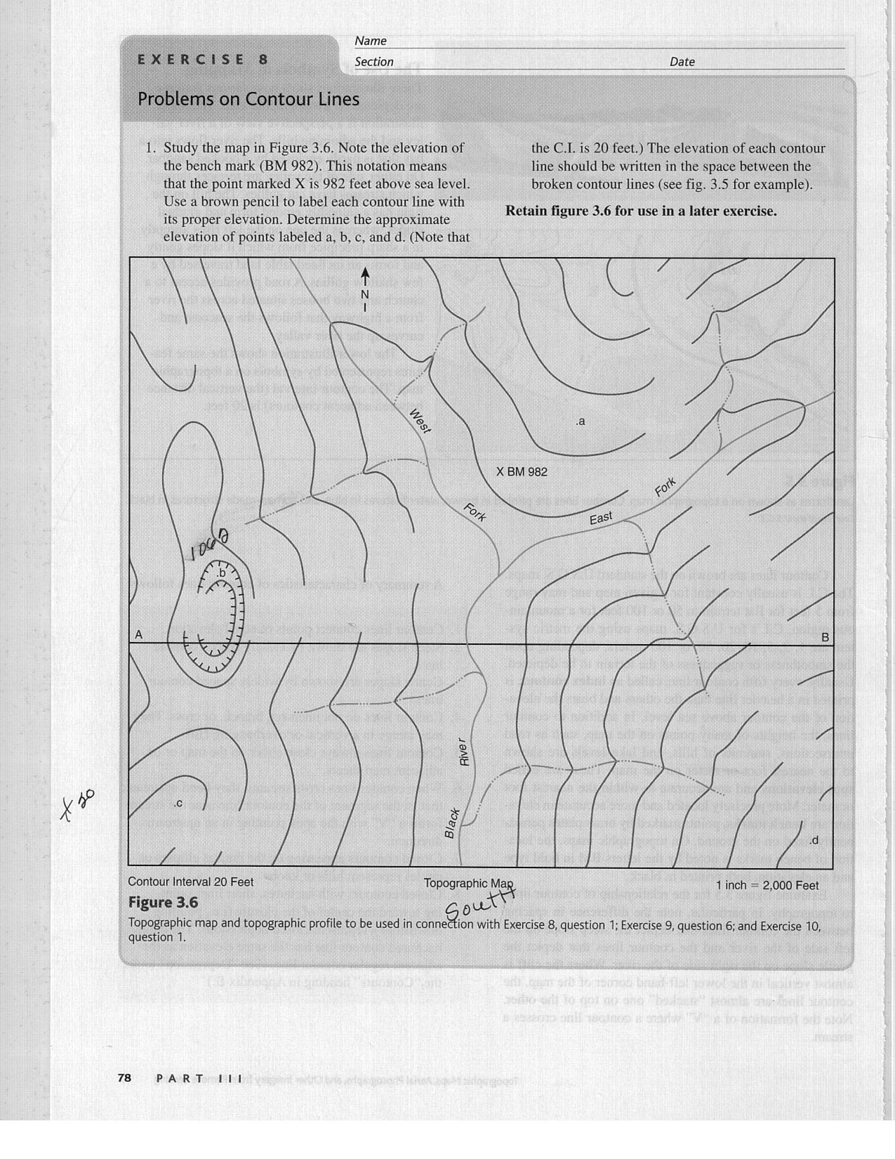 Topographic Map Worksheets Middle School Can You Help with This assignment It is Due Sunday 12 Am