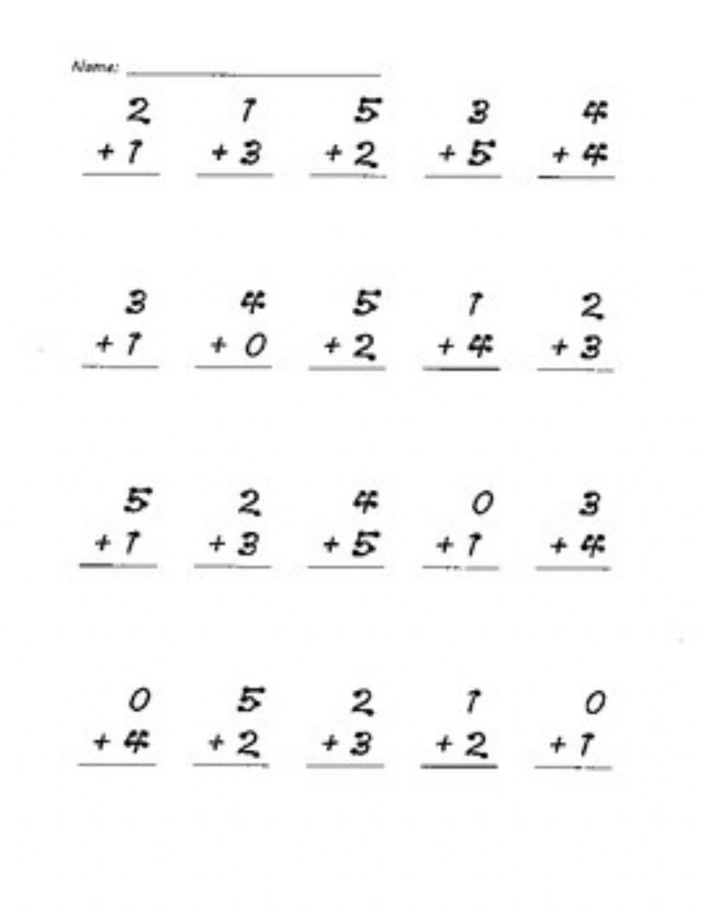 Touch Points Math Worksheets touch Points Math 4 Interactive Worksheet