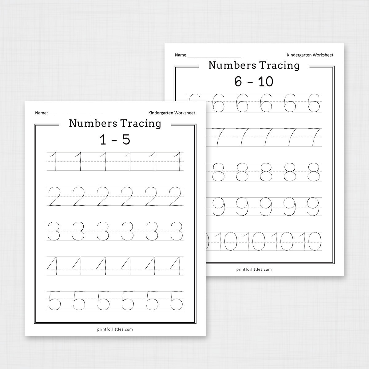 Tracing Numbers 1 20 Printable Numbers 1 20 Tracing Worksheets