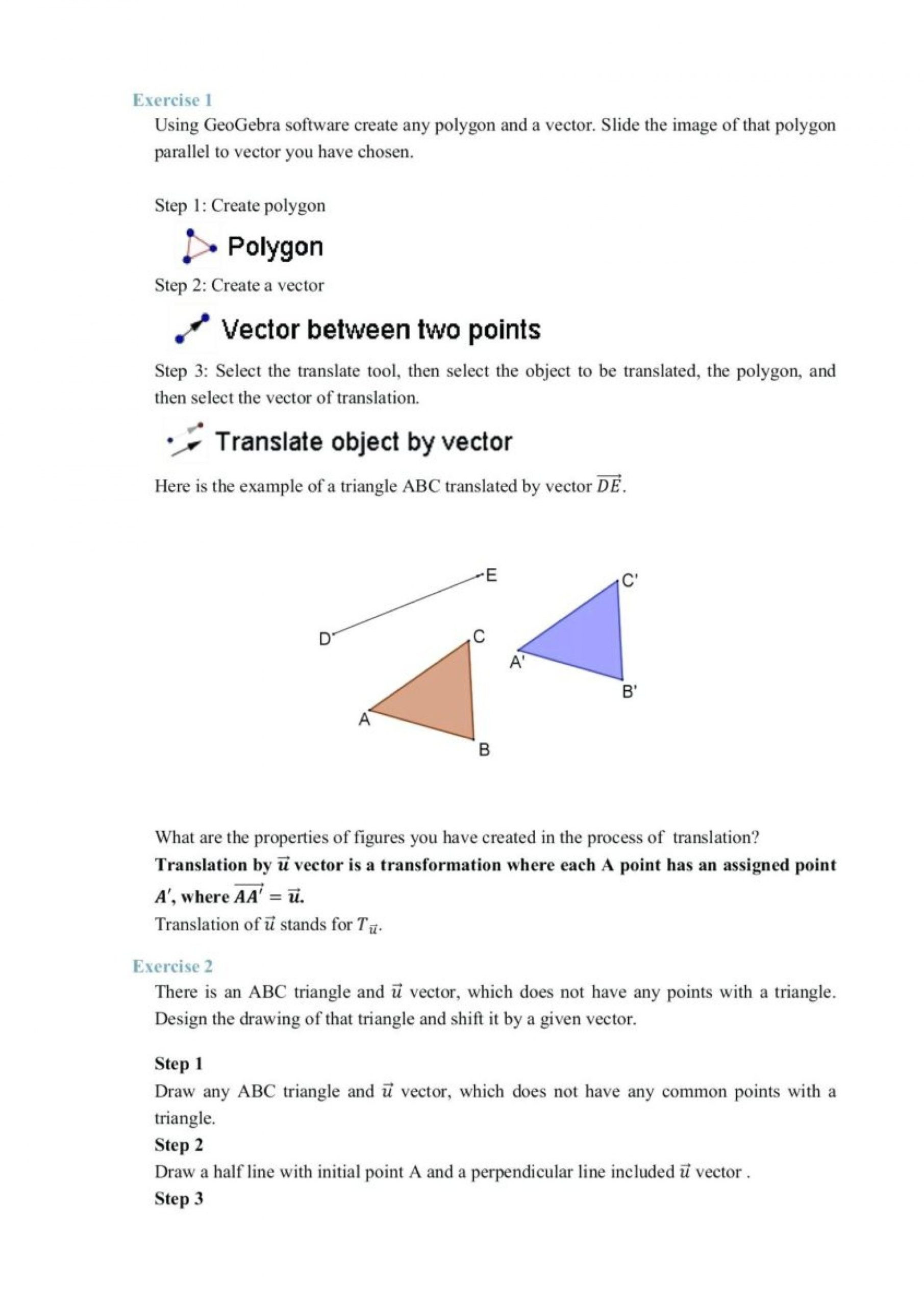 Translation Math Worksheets Math Worksheet Math Worksheet Grade Worksheets Measurement