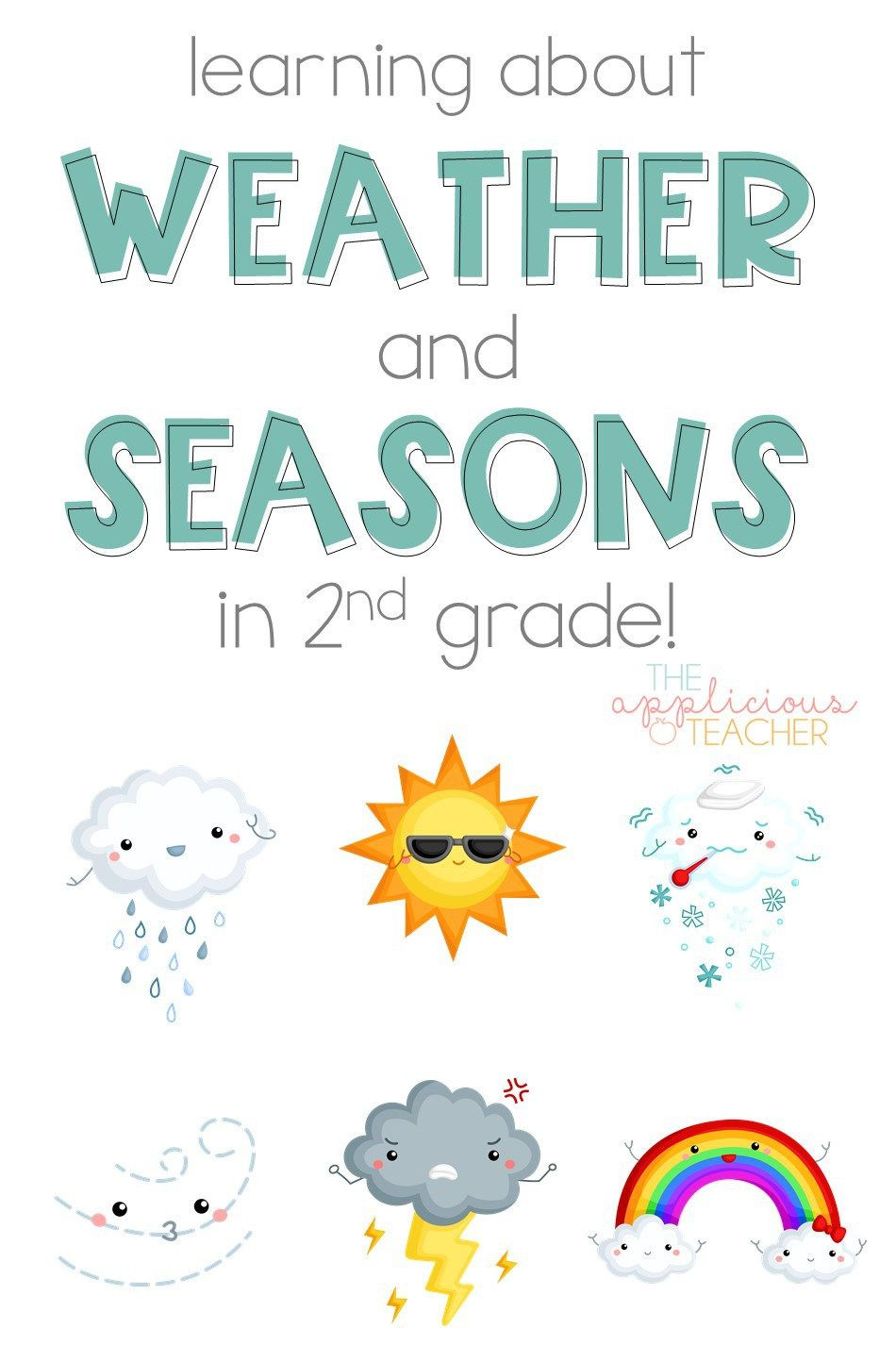 Weather Worksheets for 2nd Grade Learning About the Weather and Seasons In 2nd Grade the