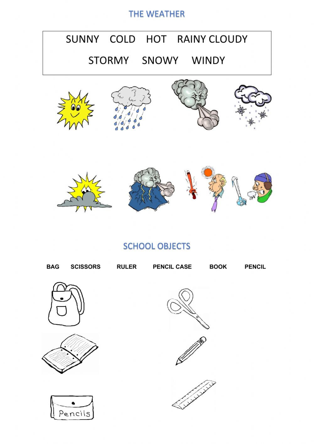 Weather Worksheets for 2nd Grade Revision 2nd Grade Interactive Worksheet