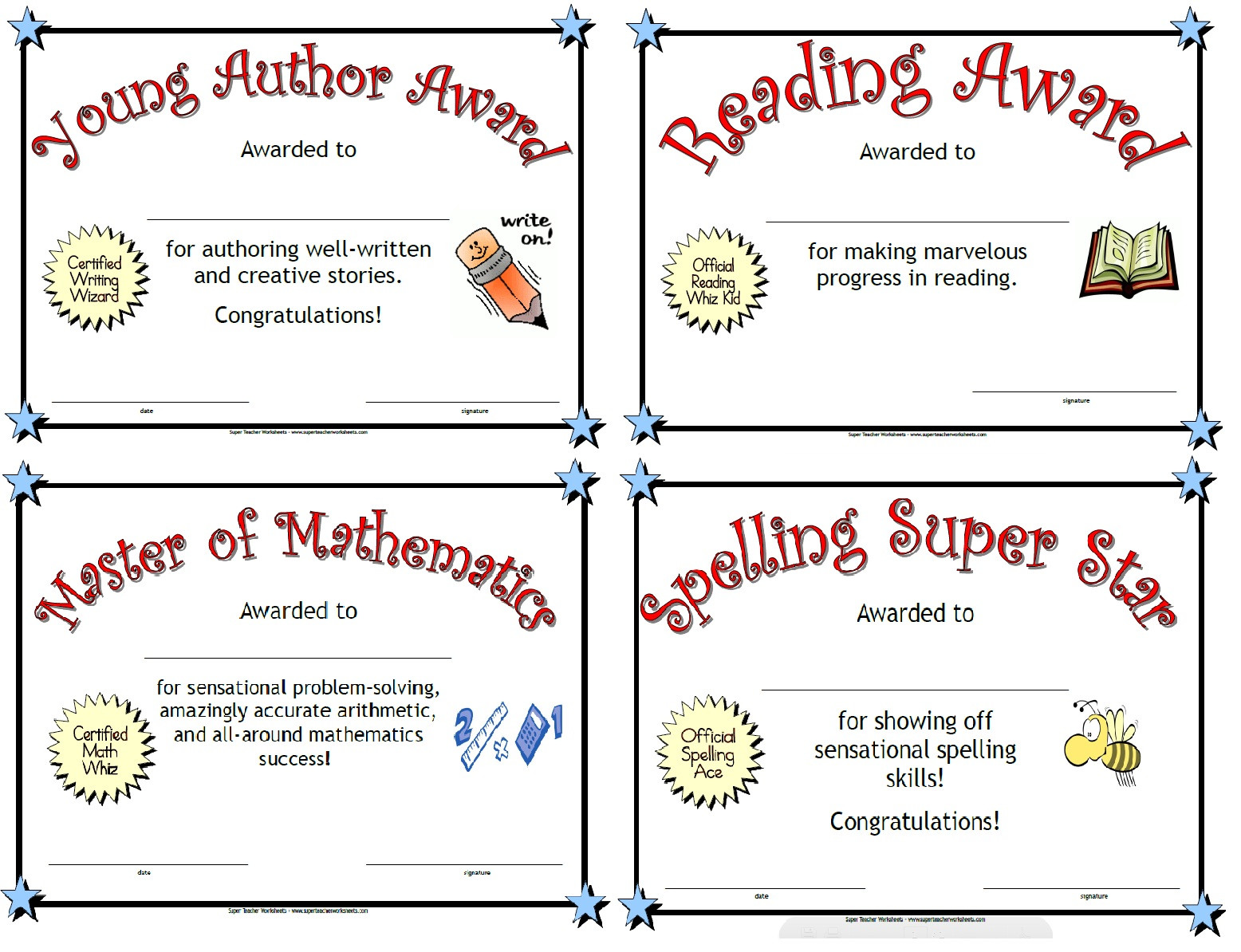 Wilson Reading Program Worksheets Printable Awards