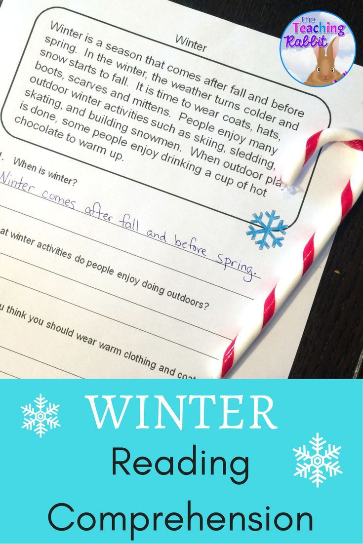 Winter Reading Comprehension Worksheets these Fun Winter Reading Passages Can Help Primary Students