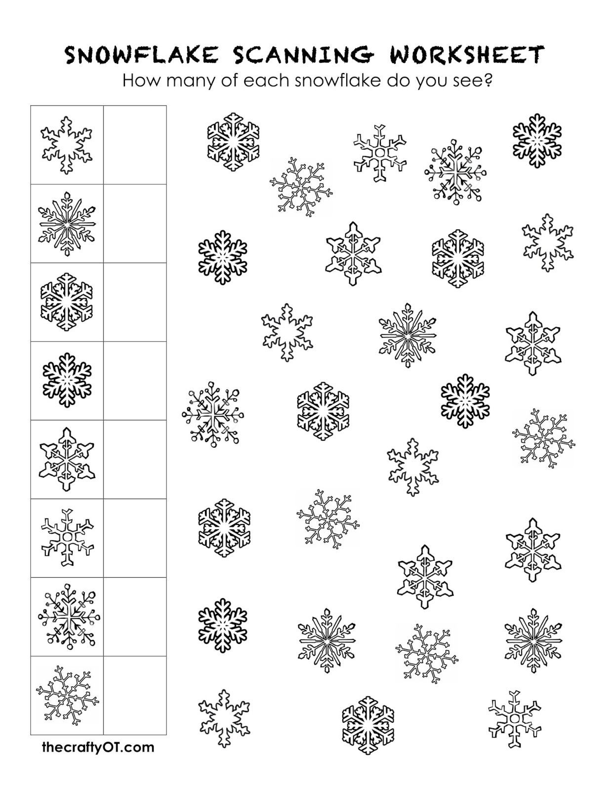 Winter Worksheets for First Grade Free Winter Worksheets