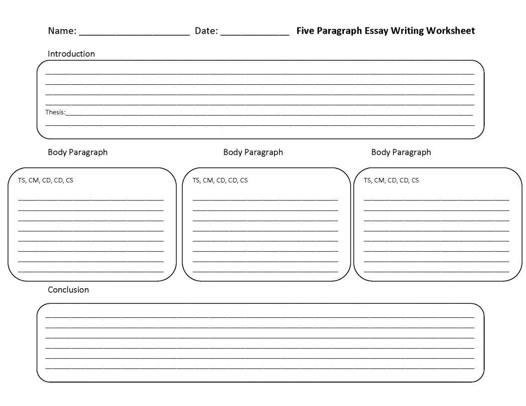 Writing A Paragraph Worksheet Teaching Paragraph Writing Worksheet