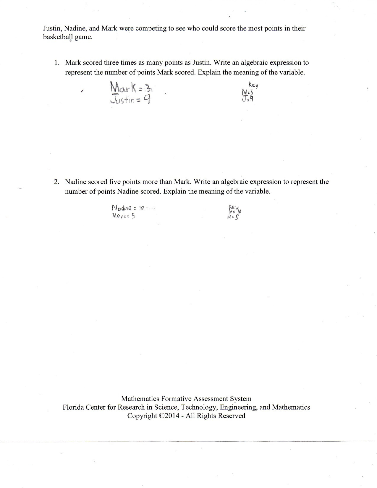 Writing and Evaluating Expressions Worksheet Mathematical Expressions Worksheets