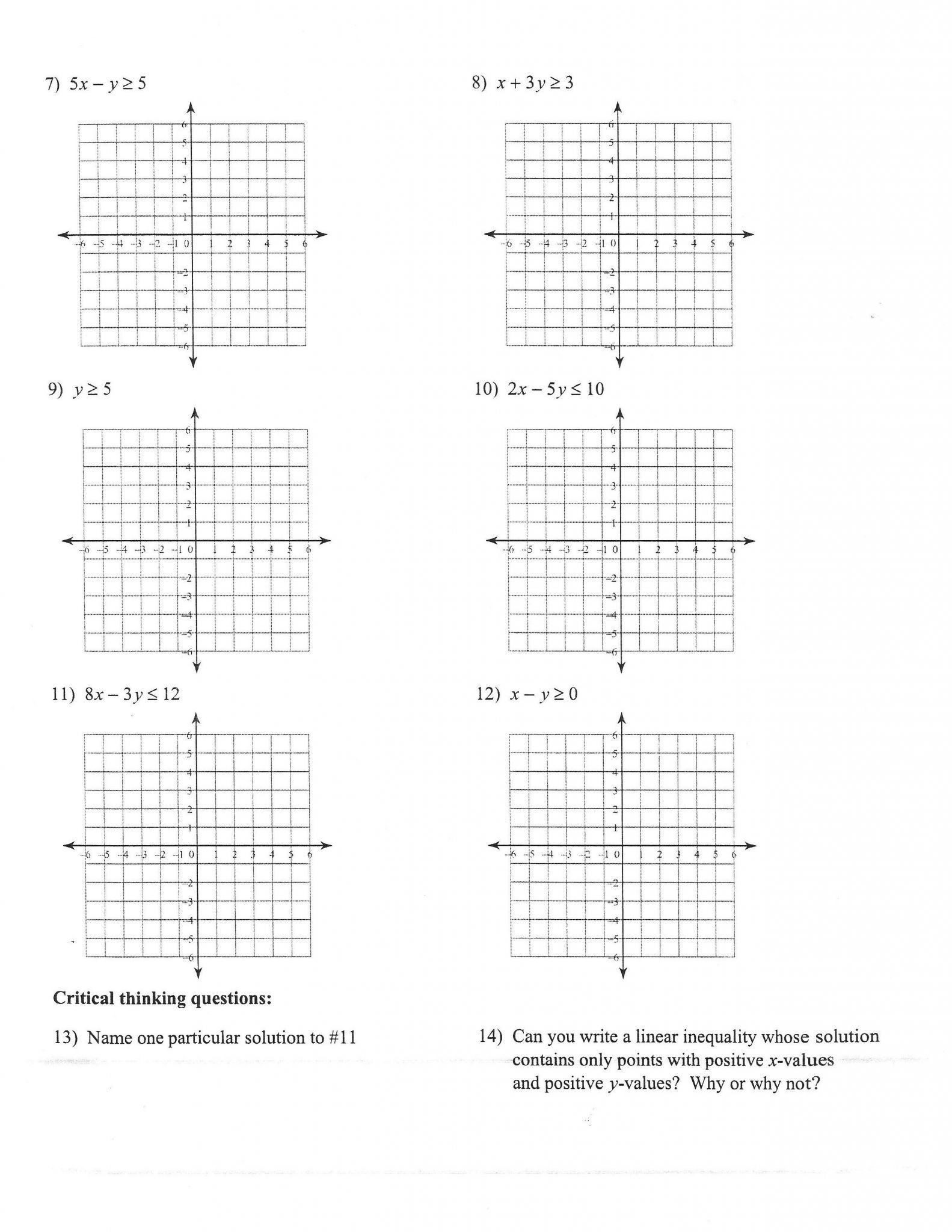 Writing Equations From Graphs Worksheet Worksheets 49 Splendi Graphing Linear Equations Worksheet