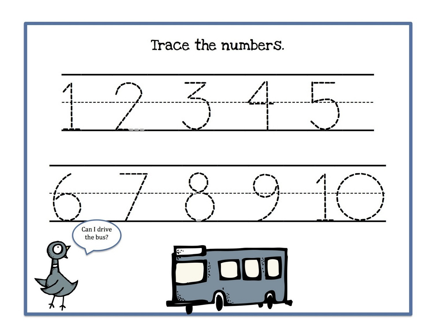 Writing Numbers 1 10 Worksheets Tracing Numbers 1 10 Worksheets