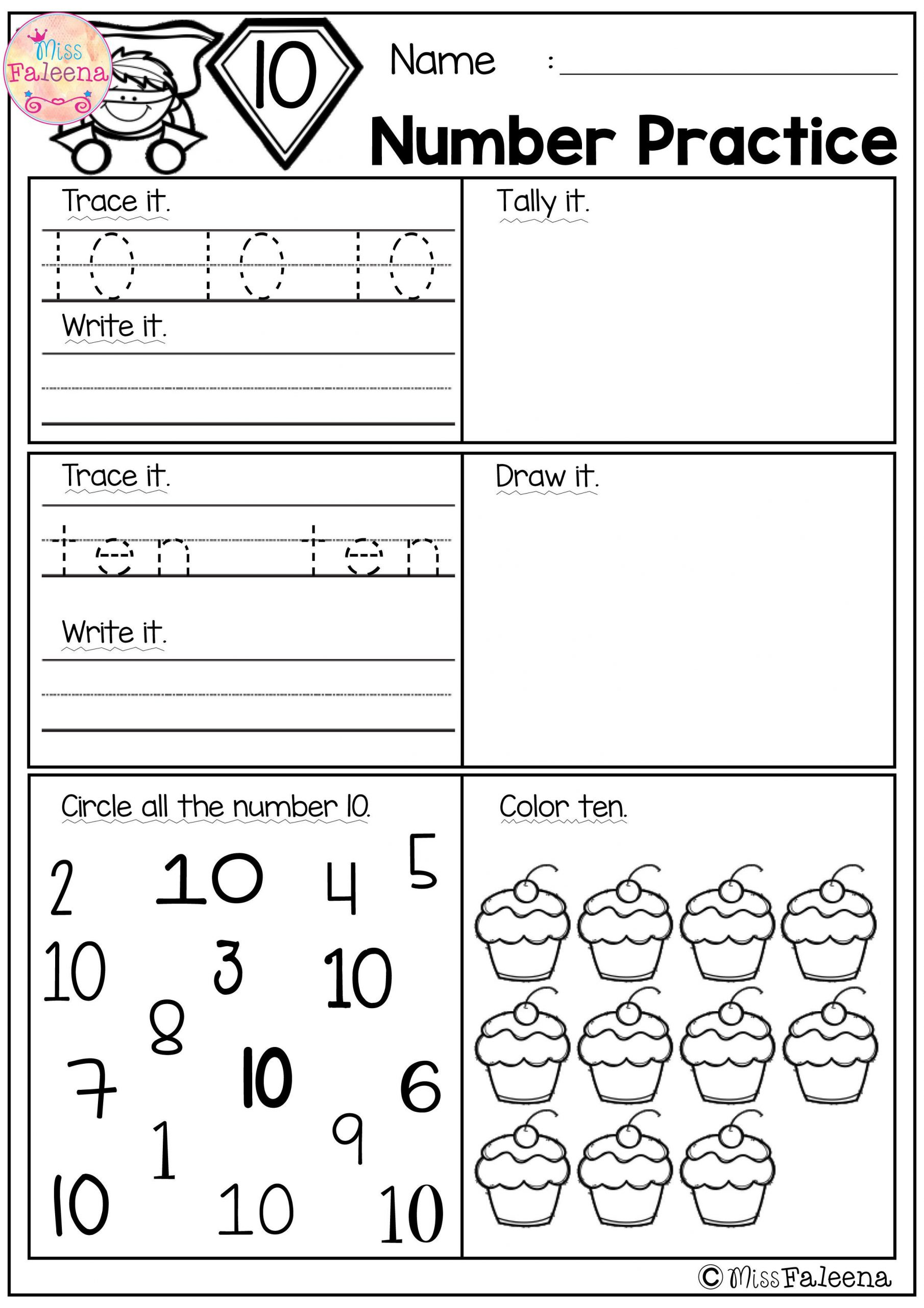 Writing Numbers Worksheet 1 20 Number 1 20 Practice Set 1