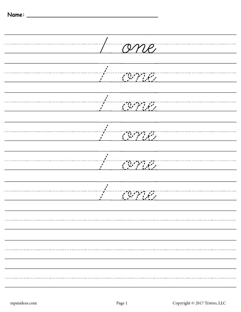 Zane Bloser Handwriting Worksheets Worksheet Handwriting Worksheets for Kids Learning Free