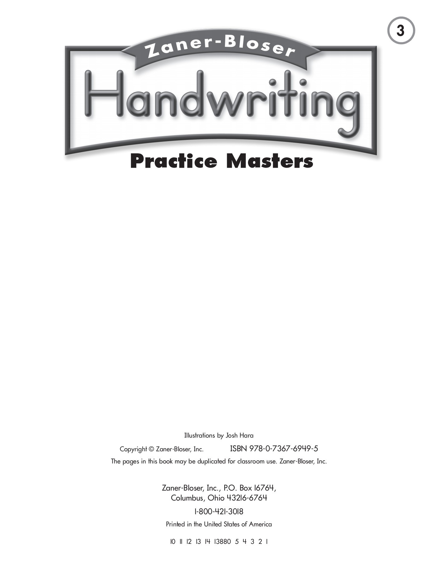 Zaner Bloser Handwriting Worksheet Cursive Handwriting Practice2 Pages 1 50 Text Version