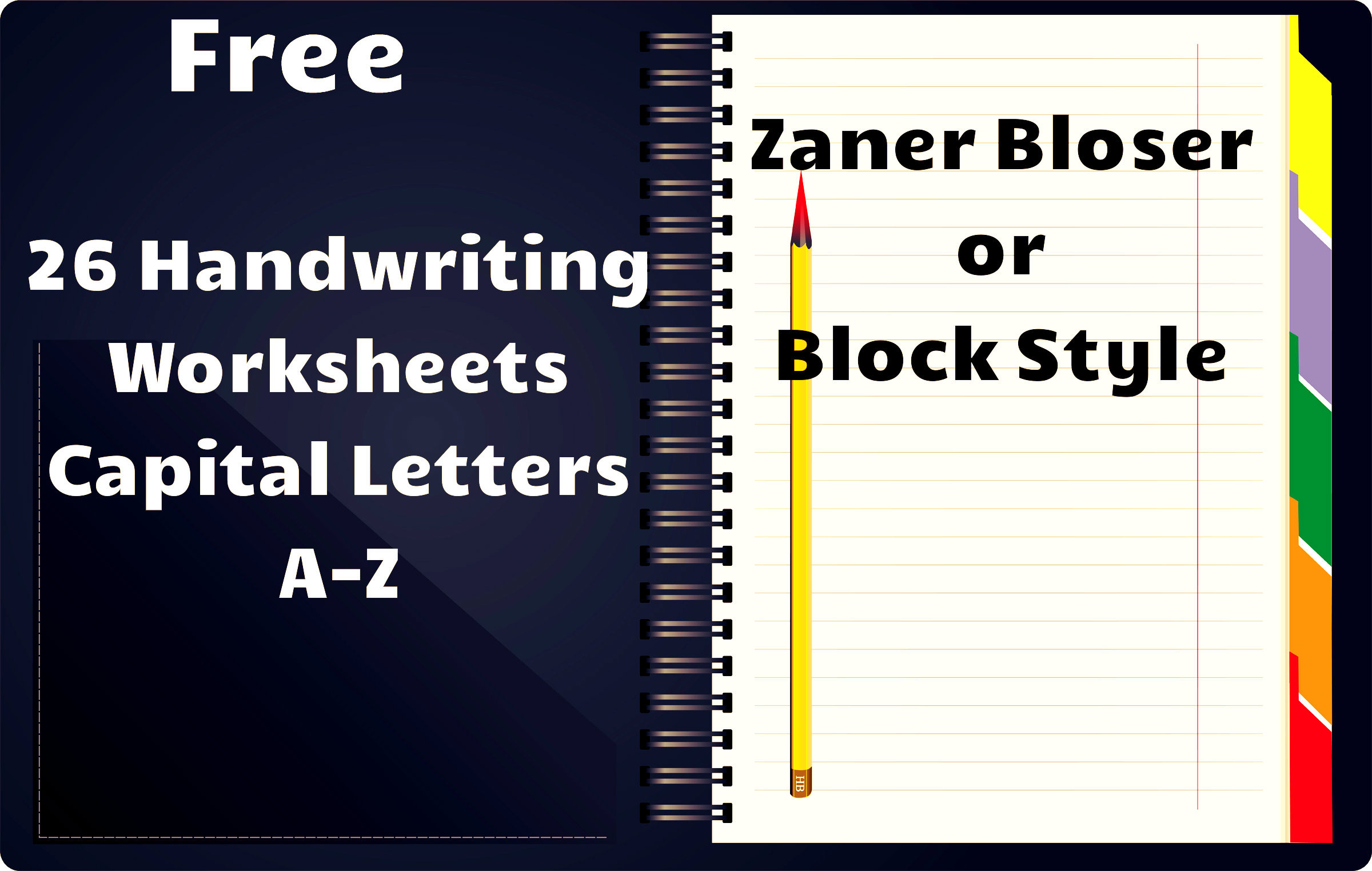 Zaner Bloser Handwriting Worksheet Free Handwriting Worksheets A Z
