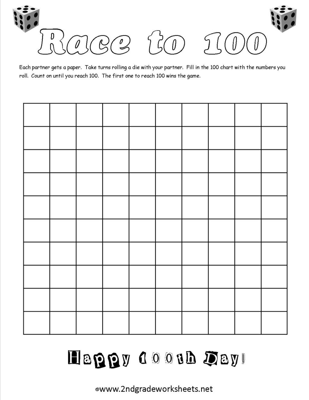 100th Day Of School Worksheets Worksheet 100th Day School Worksheets and Printouts