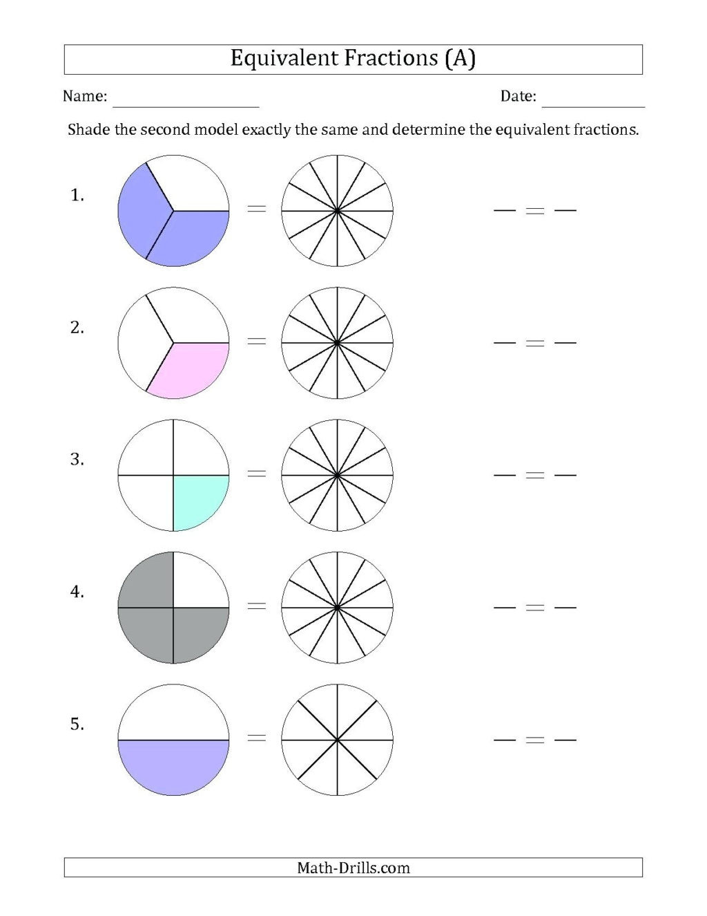 2nd Grade Fraction Worksheets Worksheet Remarkable Second Grade Fractions Worksheets