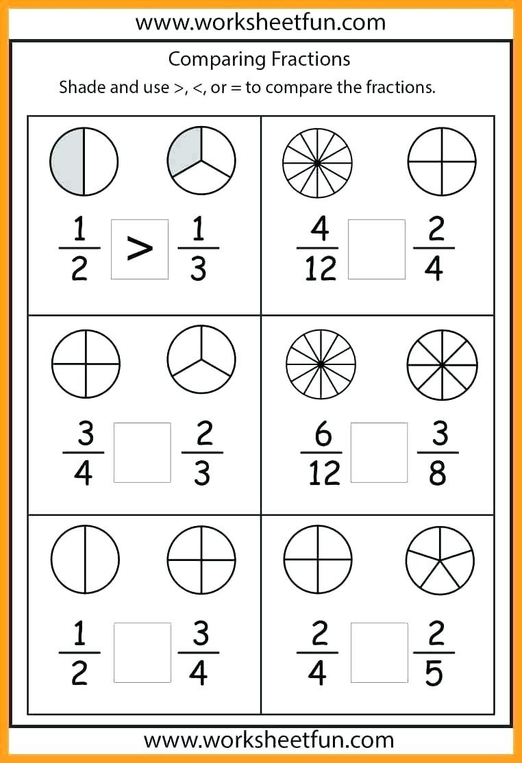 2nd Grade Fractions Worksheets 2nd Grade Fraction Worksheets – Alisha Blogs