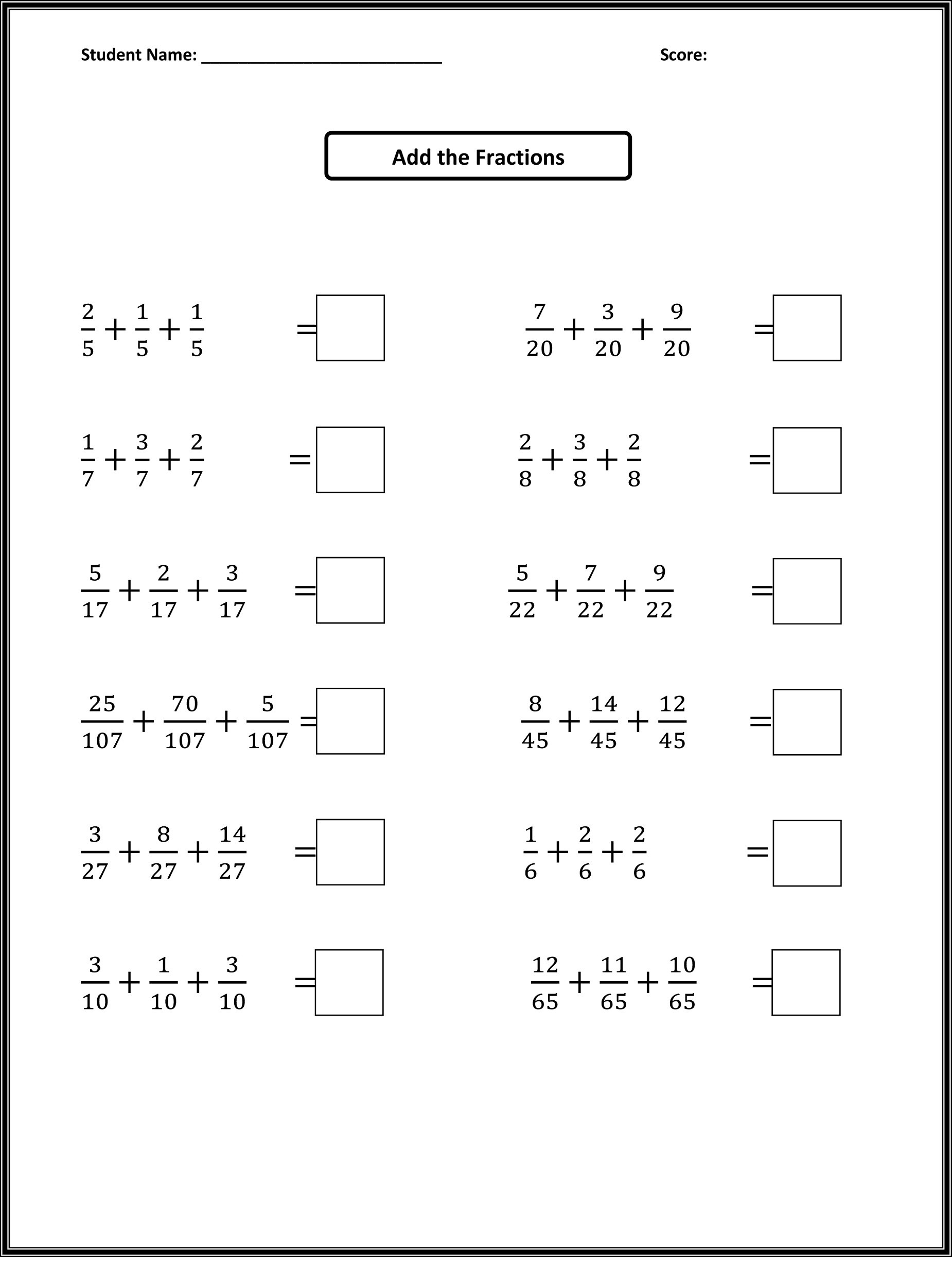 2nd Grade Fractions Worksheets Math Worksheet Free Elementary Mathorksheets 2nd Grade
