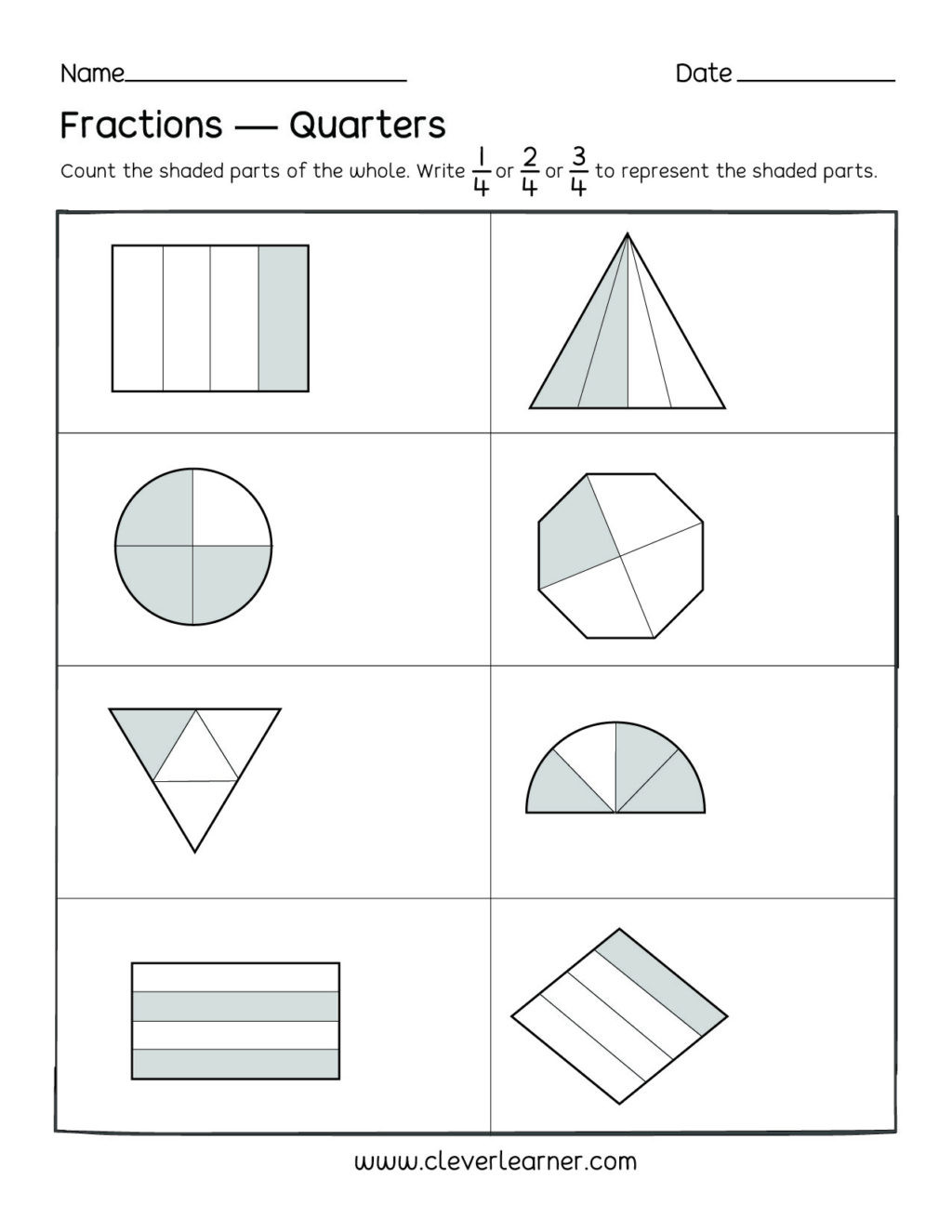 2nd Grade Fractions Worksheets Worksheet Worksheet Remarkable Second Grade Fractionsets
