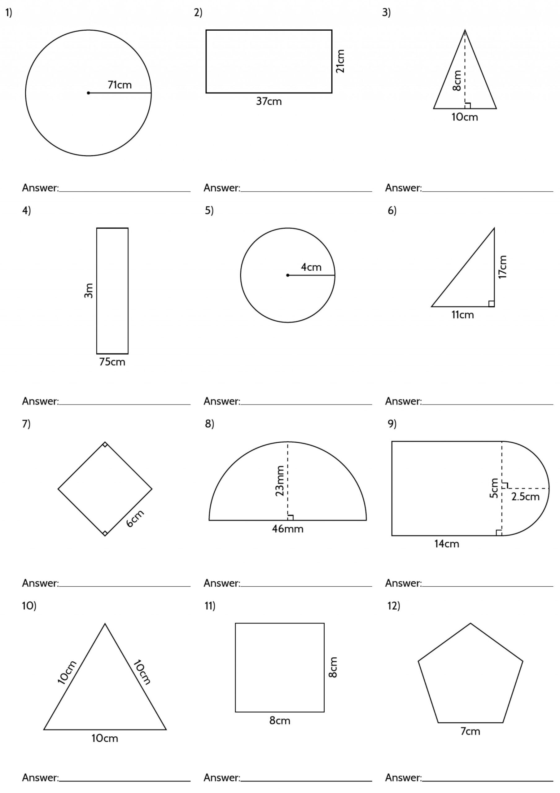 2nd Grade Geometry Worksheets Back to School Worksheets Parts the House Worksheets