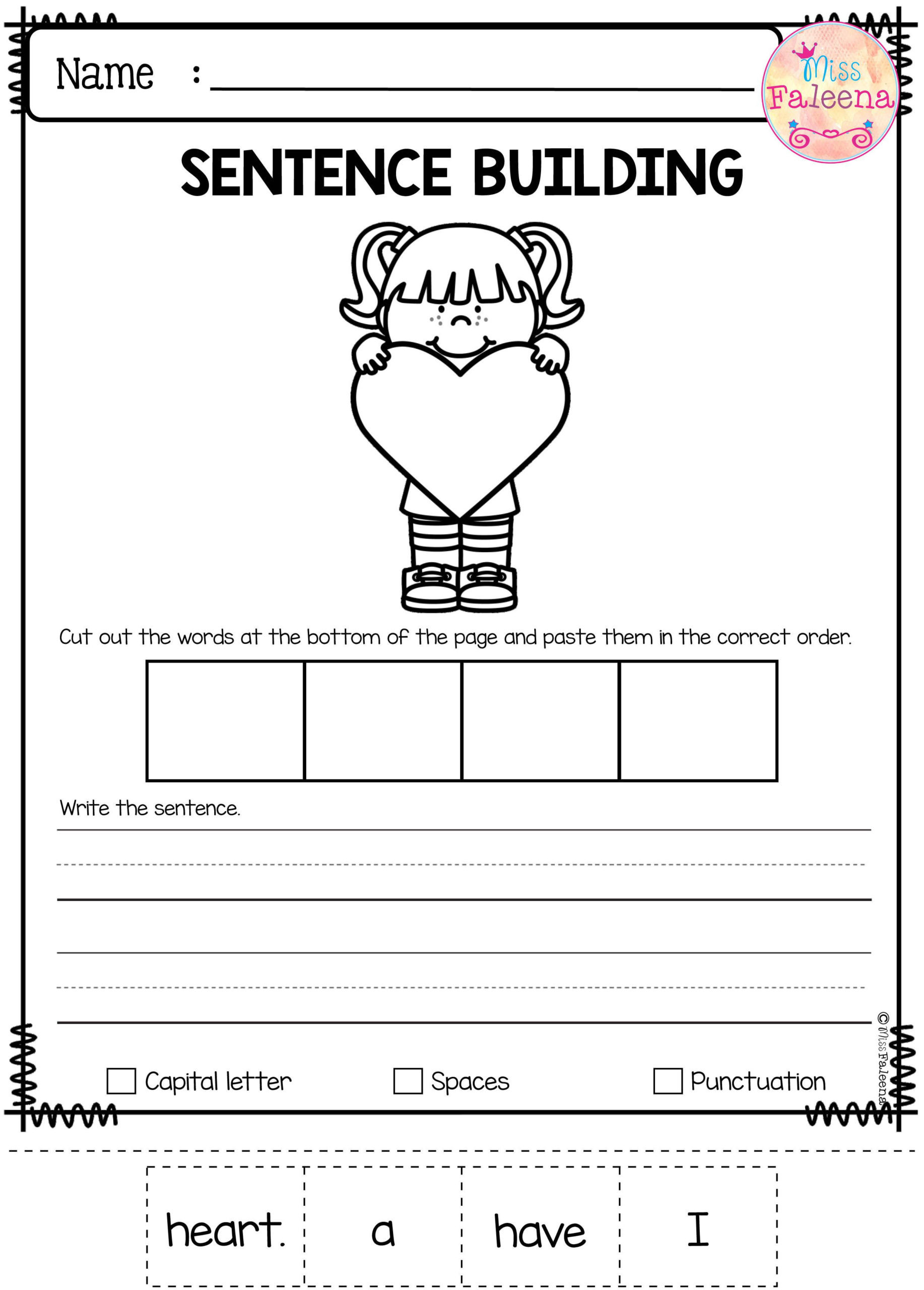 2nd Grade Sight Words Worksheet Worksheet Sight Word for Kindergarten and First Grade