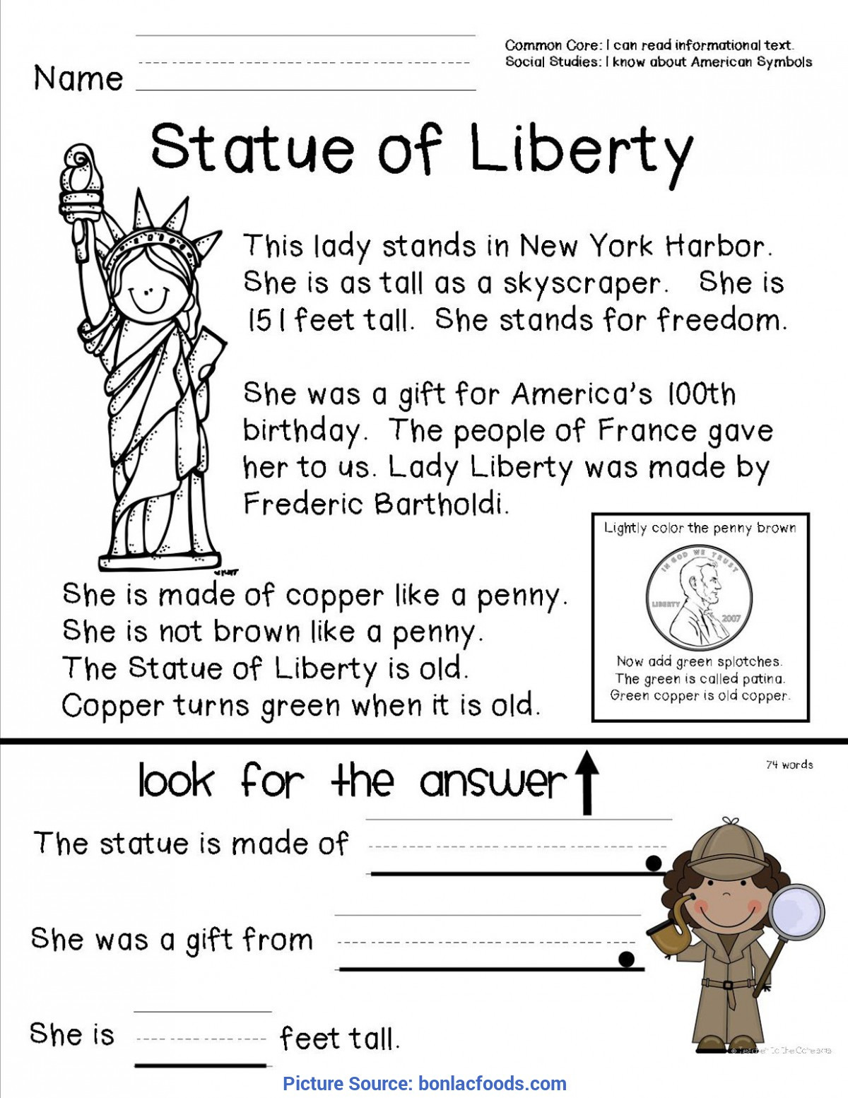 2nd Grade social Studies Worksheet top History Lessons for 2nd Graders Worksheets for All