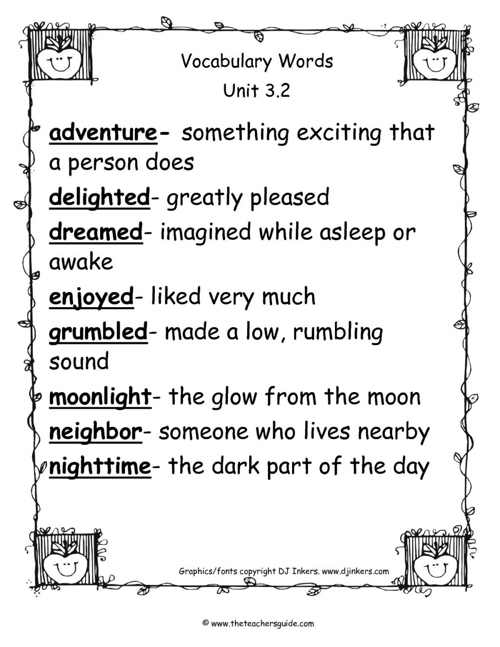 2nd Grade Vocabulary Worksheets Worksheet astonishing Activities for 2nds Grade Vocabulary