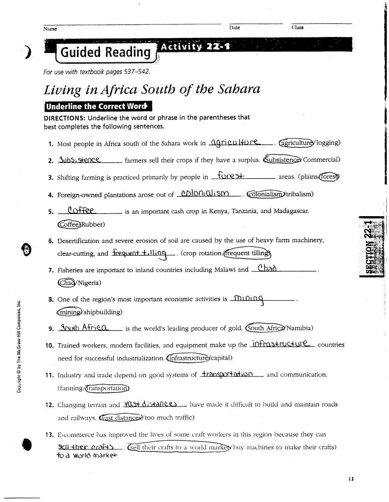 3rd Grade Economics Worksheets social Stu S China Worksheets