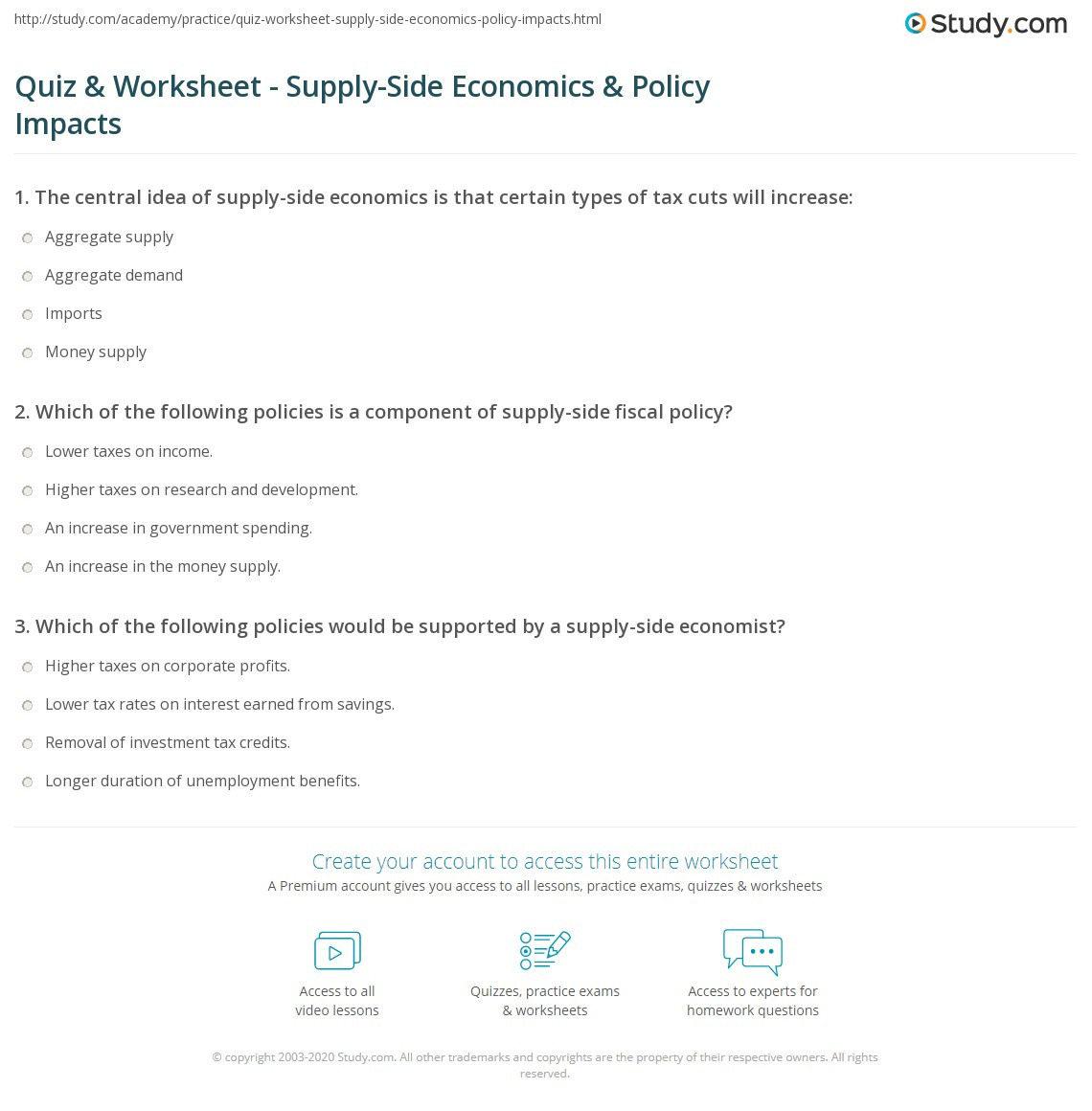 3rd Grade Economics Worksheets Economics Demand Worksheets