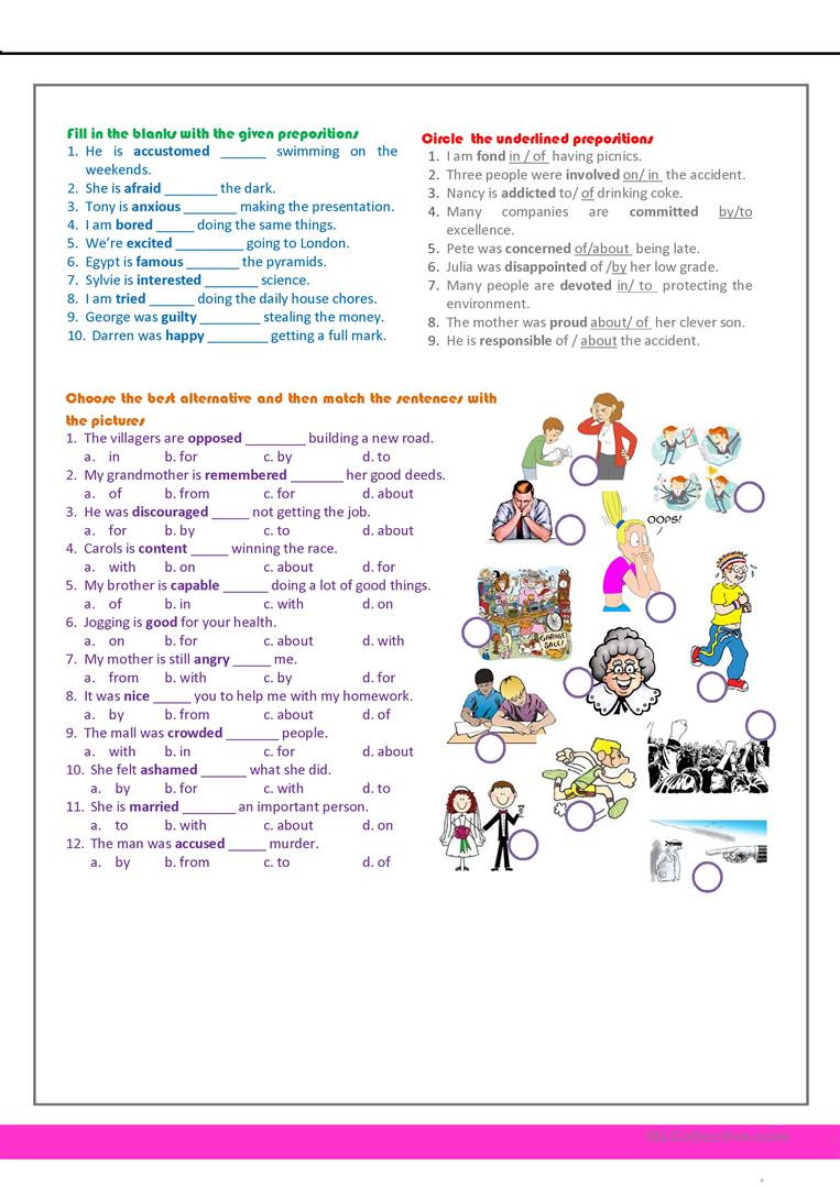 7th Grade English Worksheets Revision for the 7th Grade English Esl Worksheets for
