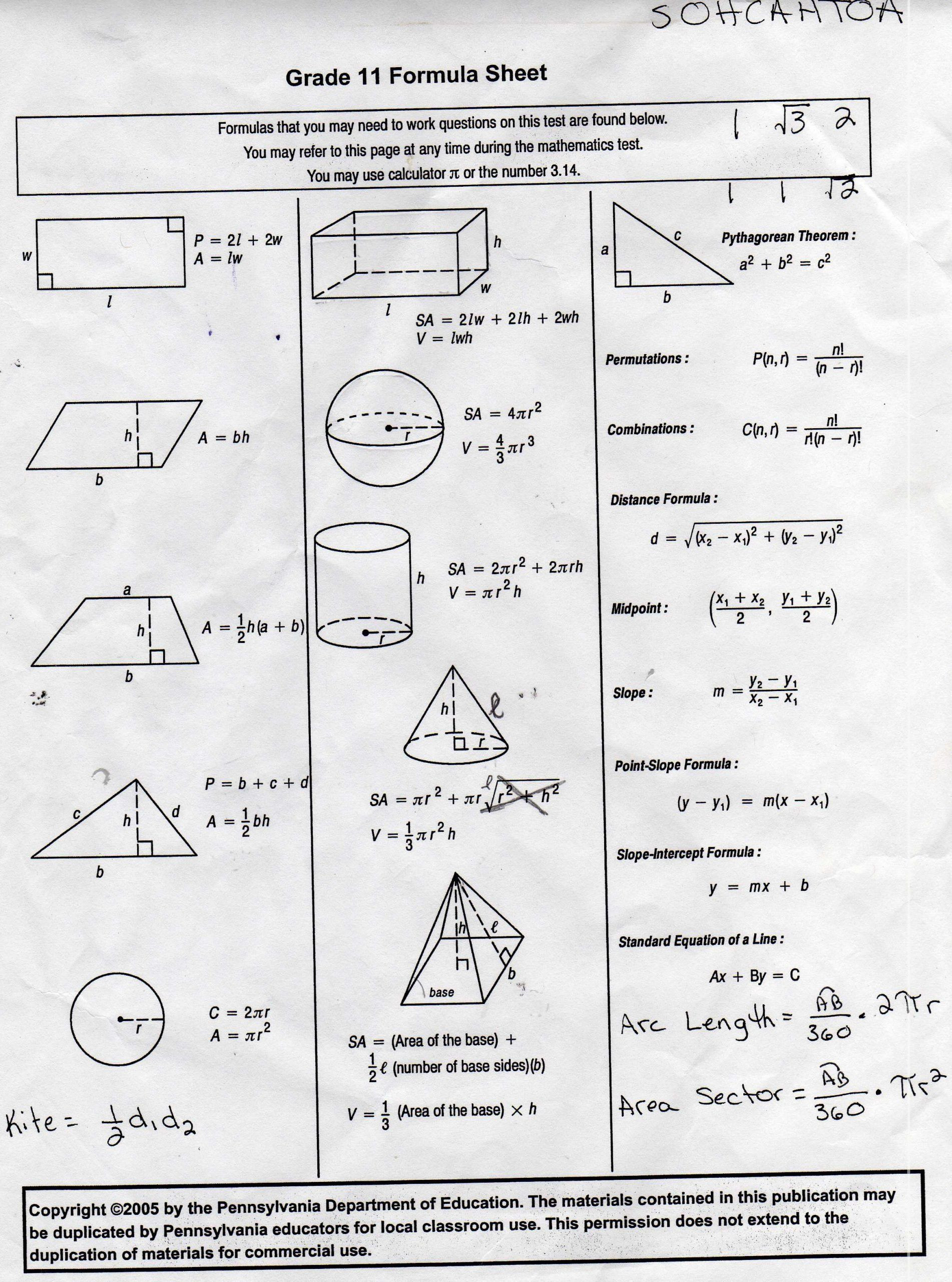9th Grade Geometry Worksheets Pin On 1st Grade Worksheets & Free Printables