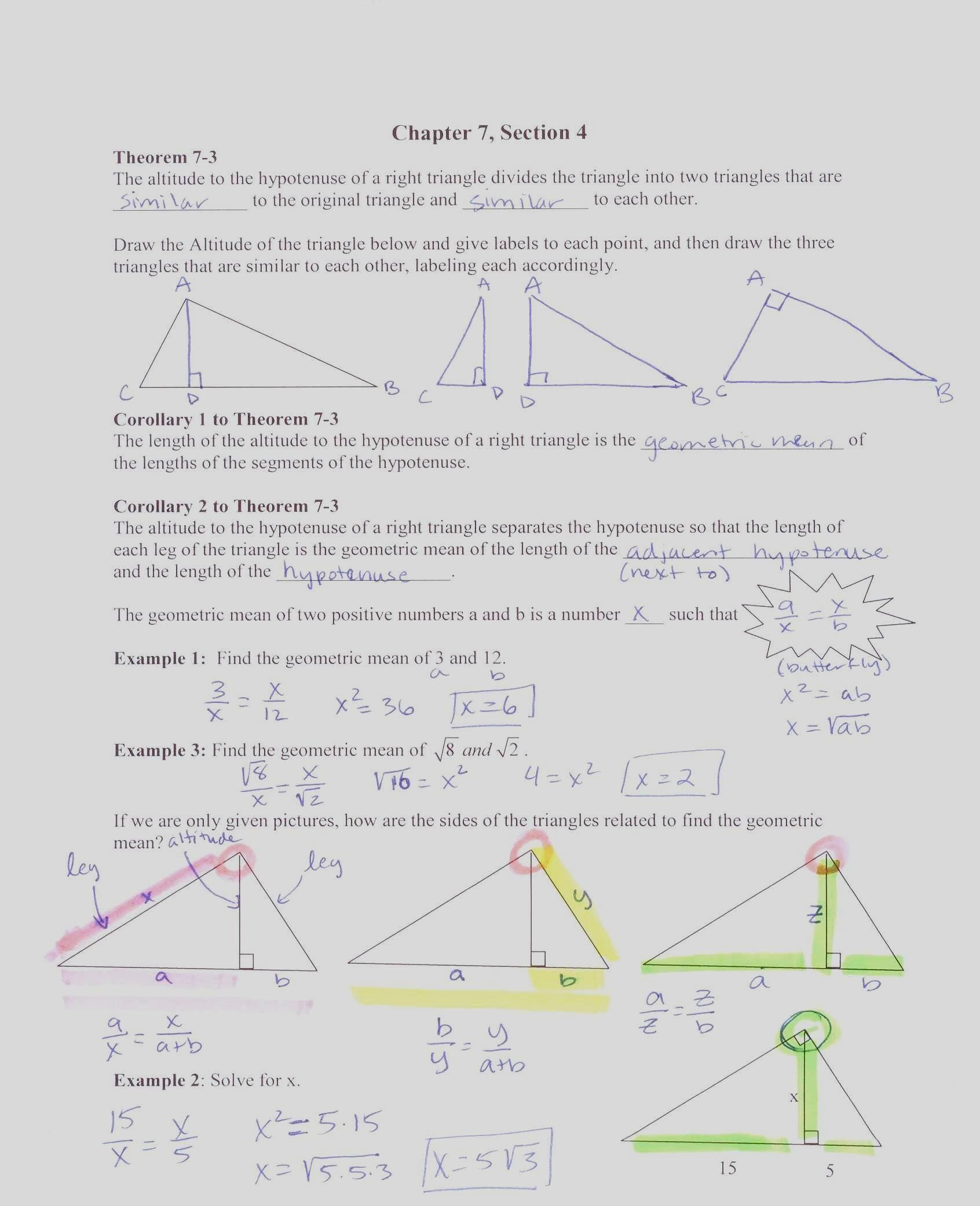 9th Grade Geometry Worksheets Pin On Grade Worksheets & Sample Printables