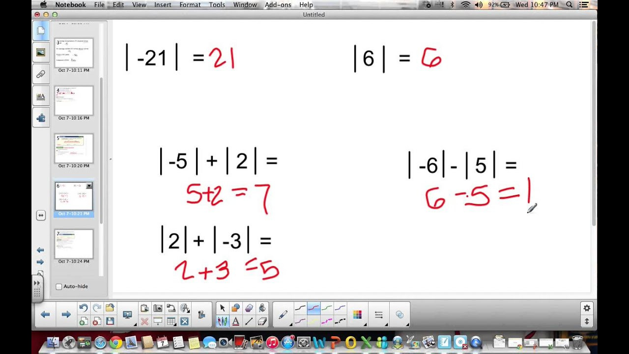 Absolute Value Worksheets 6th Grade 6th Grade 2 1 2 2 Integers and Absolute Value