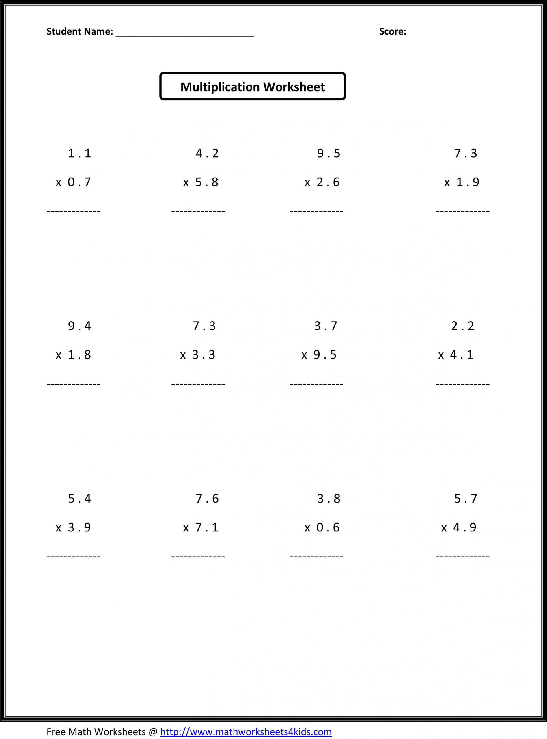 Absolute Value Worksheets 6th Grade Absolute Value and Opposite Integers Worksheets