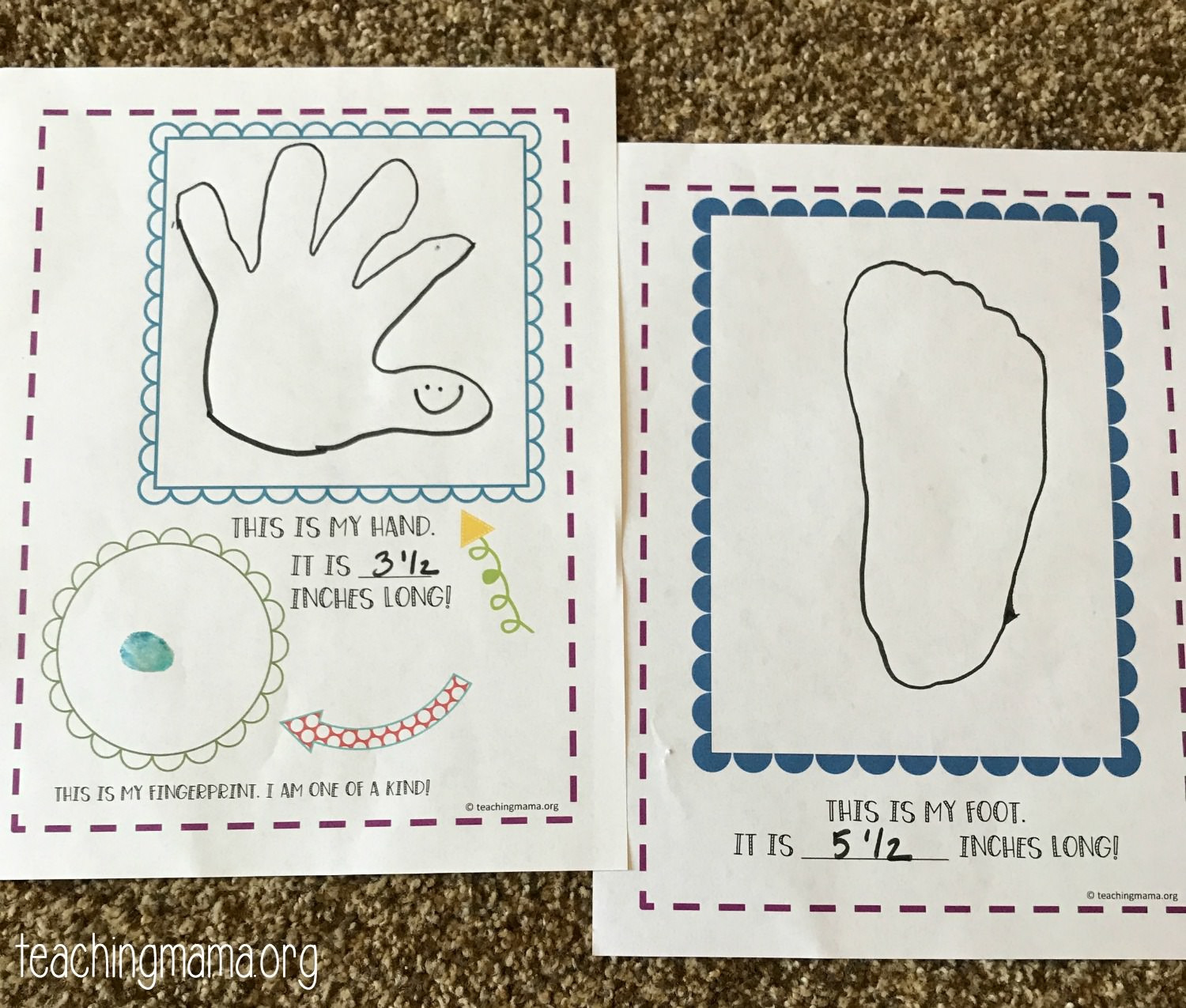 All About Me Worksheet Preschool All About Me Preschool theme