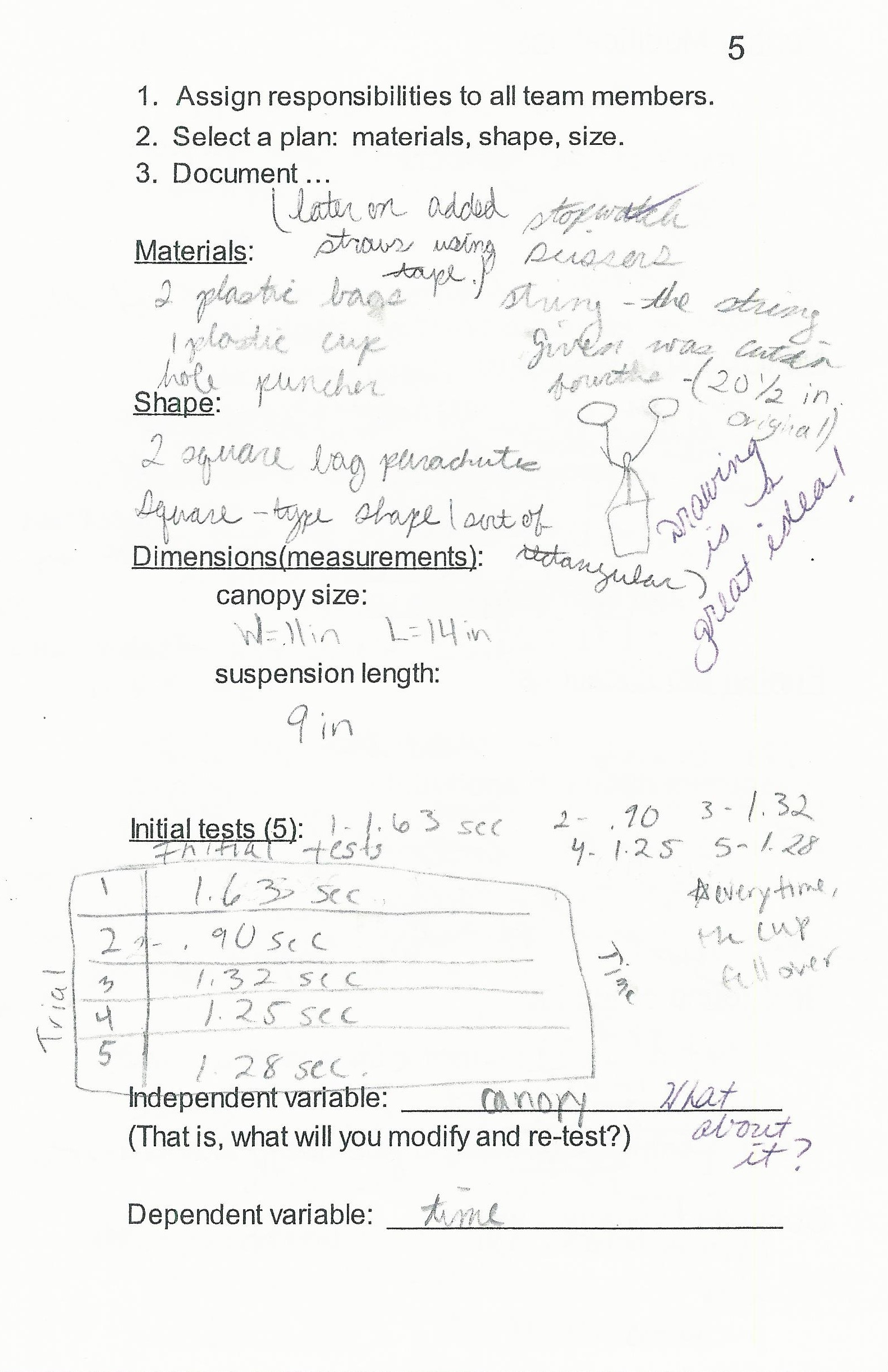 Annotation Worksheet Middle School Line Connections Science Scope