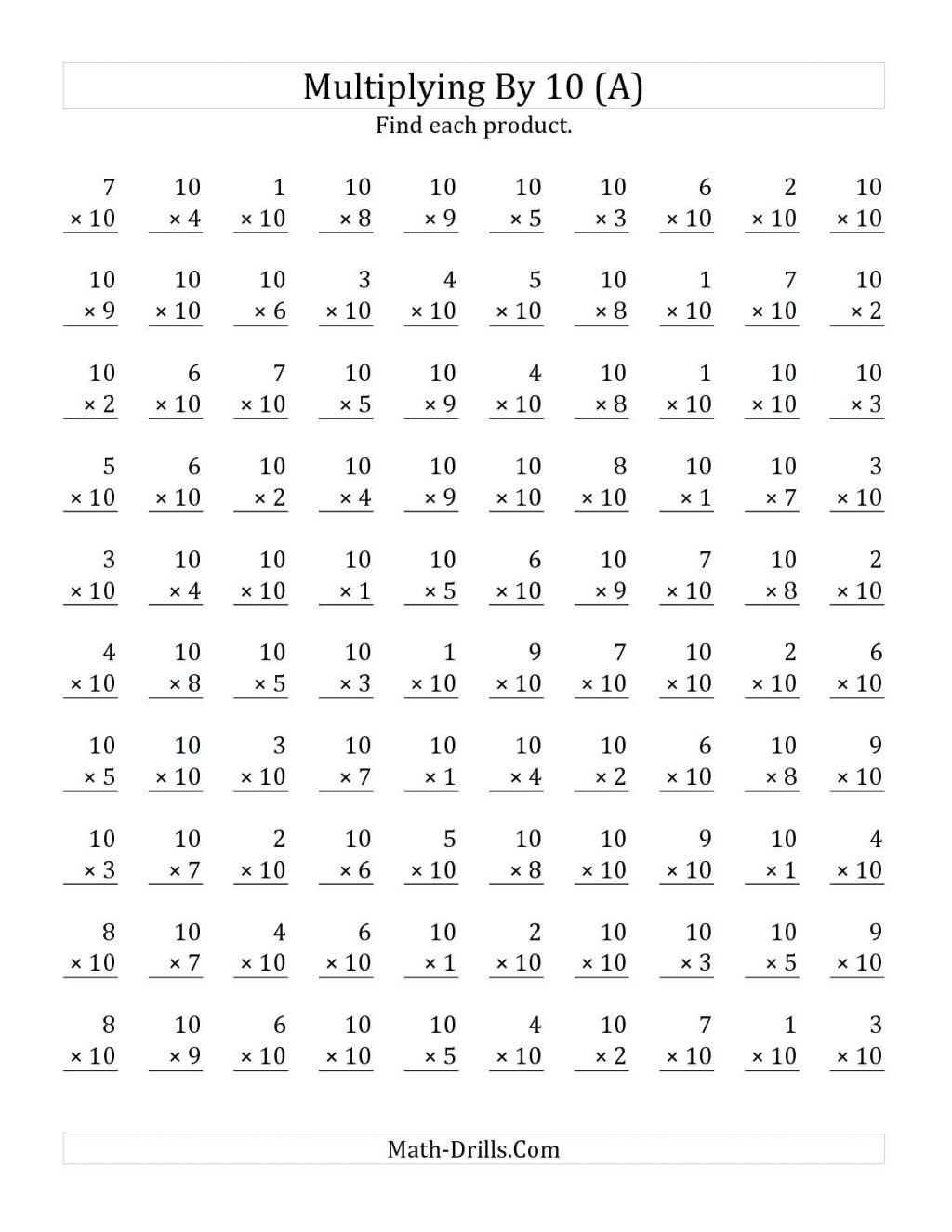 Array Worksheets 3rd Grade Worksheet Third Grade Mathets Multiplication and Division
