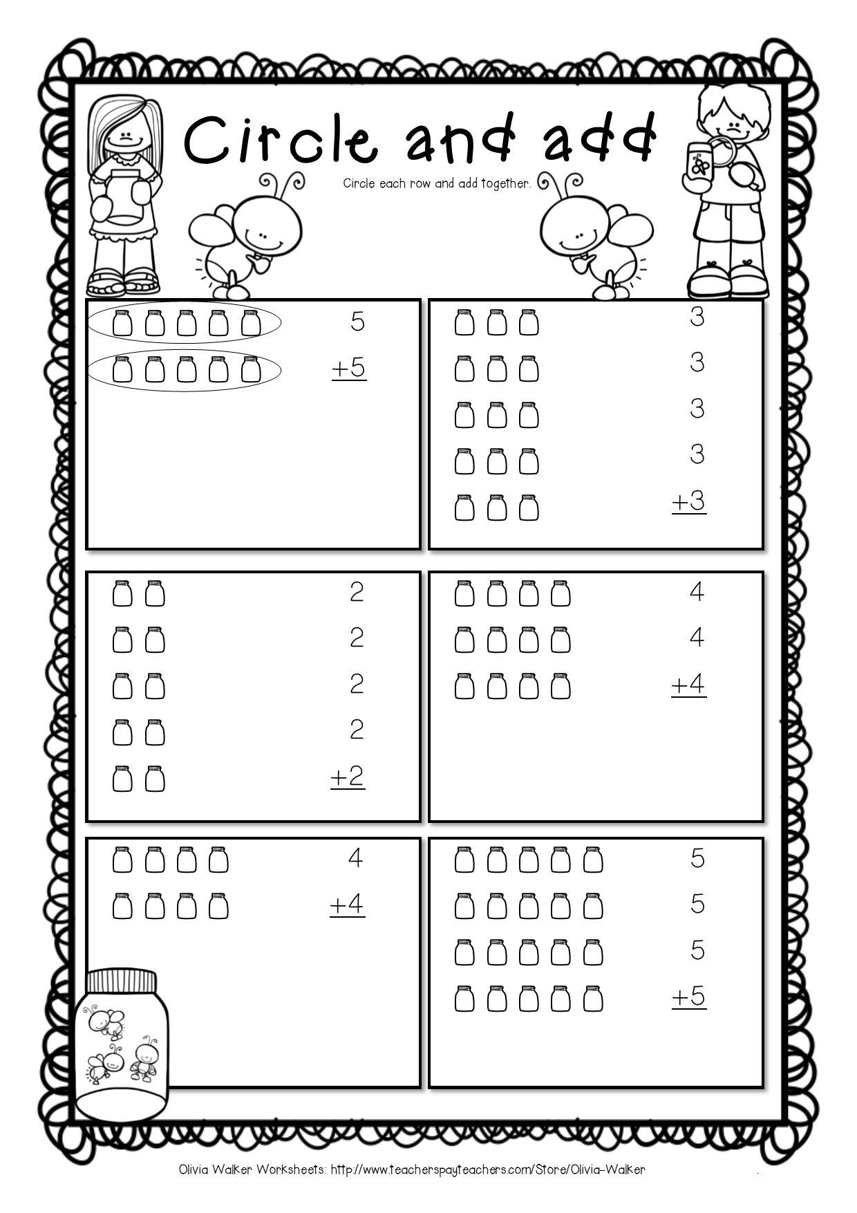 Array Worksheets for 2nd Graders Arrays Worksheets Grade Two Math Standard First