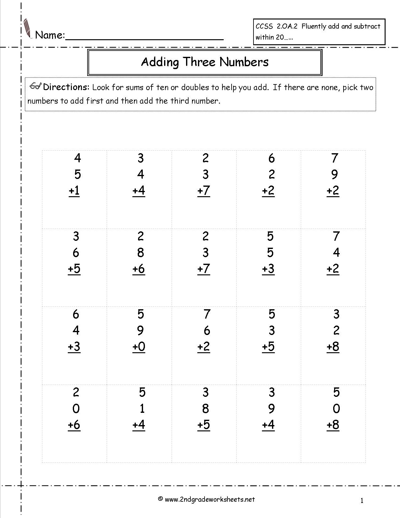 Array Worksheets for 2nd Graders Math Worksheet Free Maths and Printouts Practice for 2nd